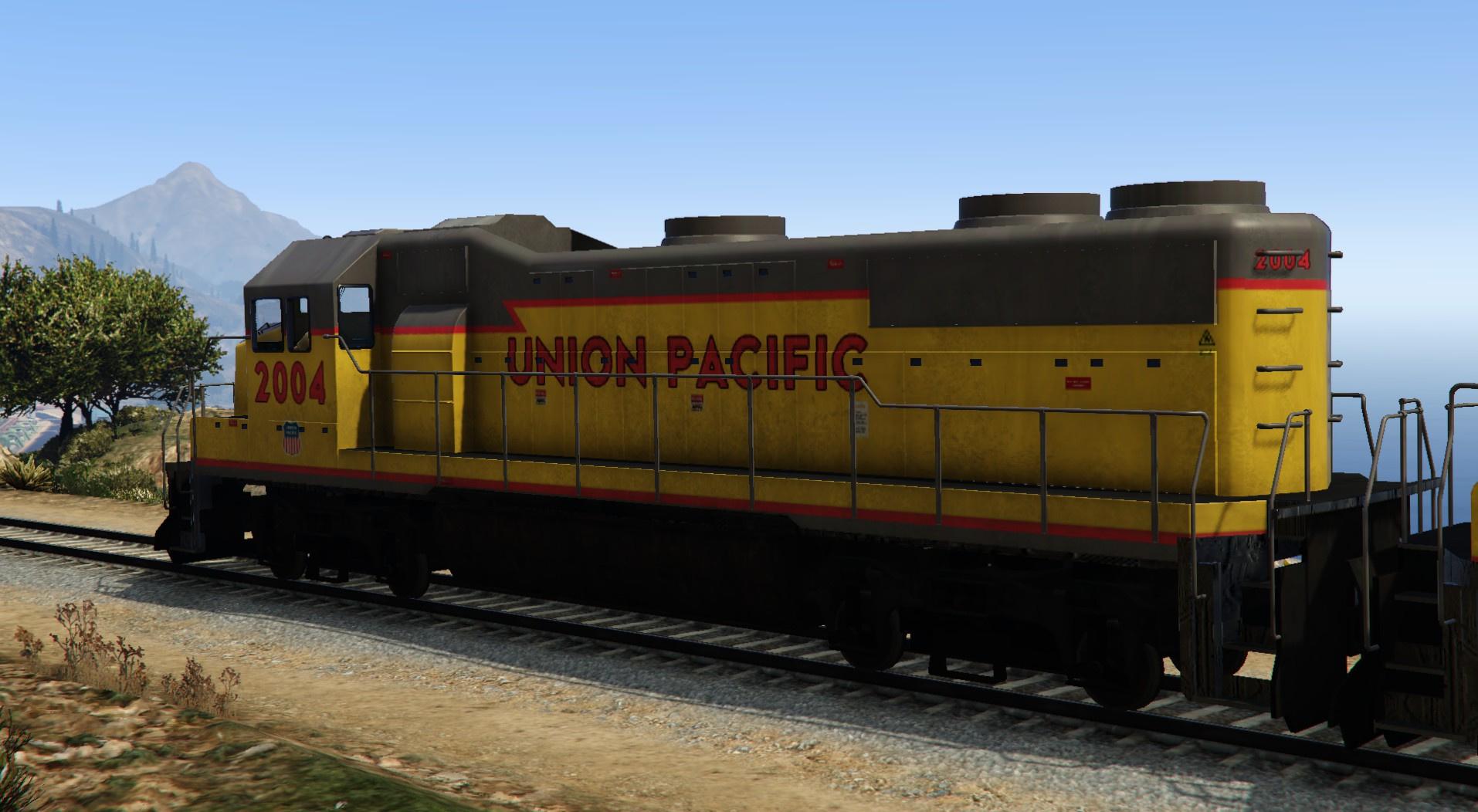 Union Pacific Freight Train Gta5 Mods Com