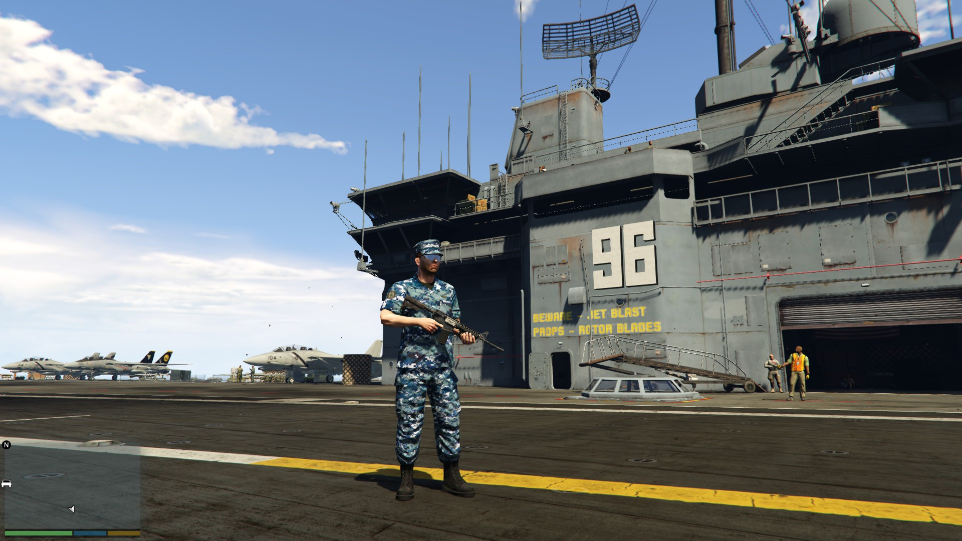 United States Navy Uniform Gta5 Mods Com