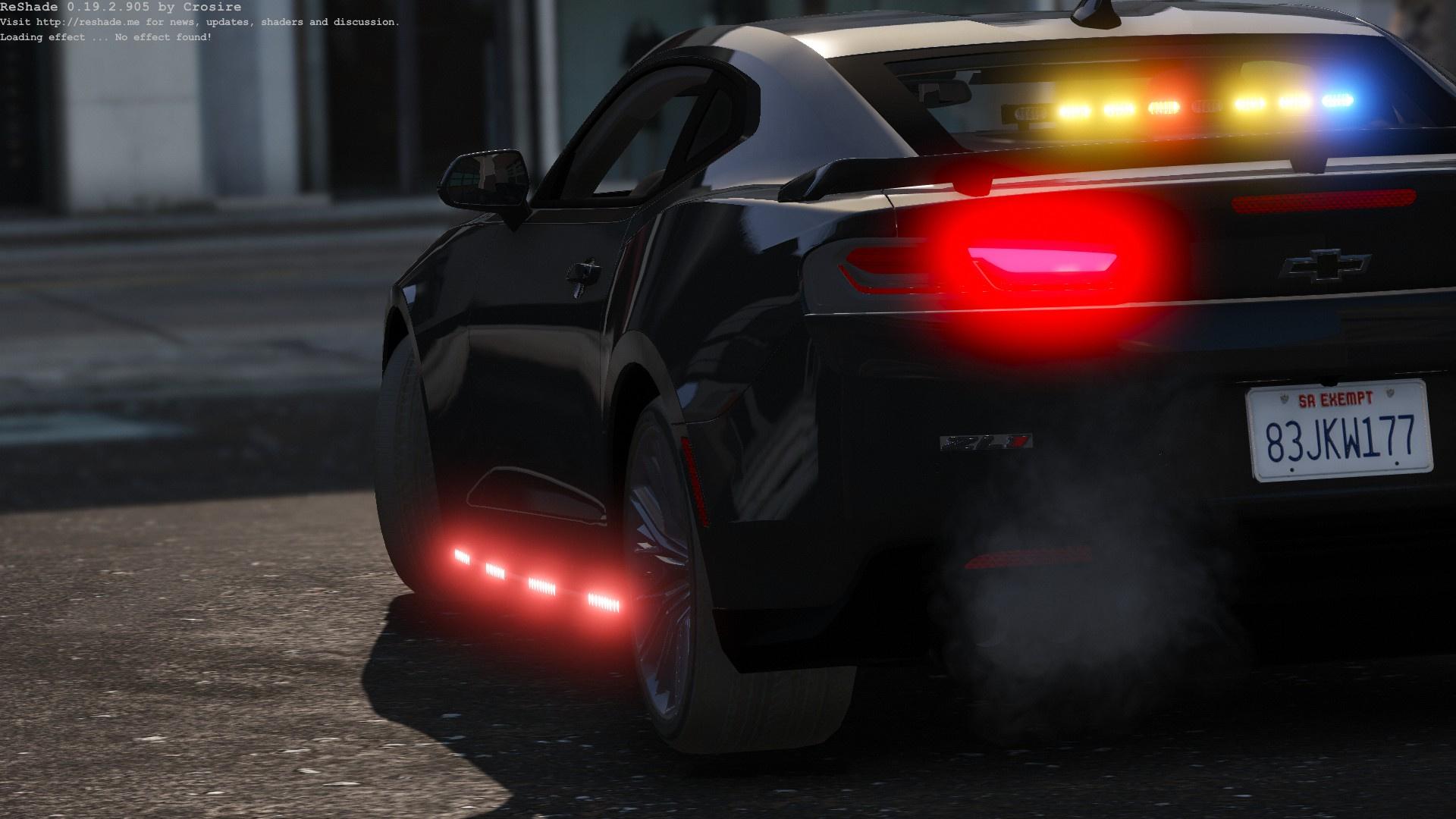 Unmarked 2017 Camaro ZL1 - GTA5-Mods com
