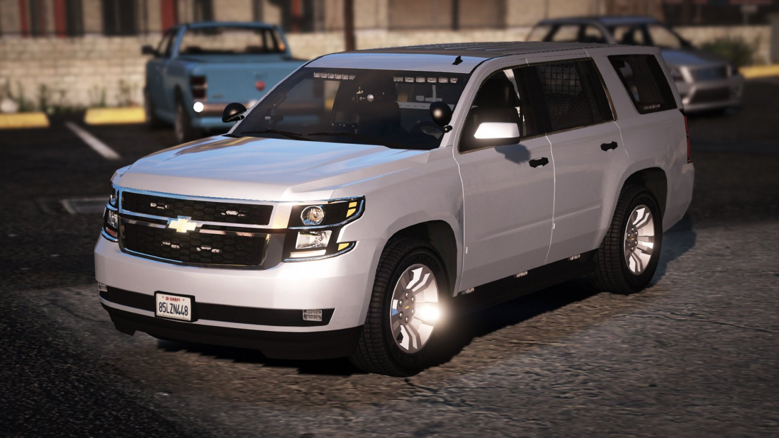 unmarked els 2015 chevy tahoe ppv gta5. Black Bedroom Furniture Sets. Home Design Ideas