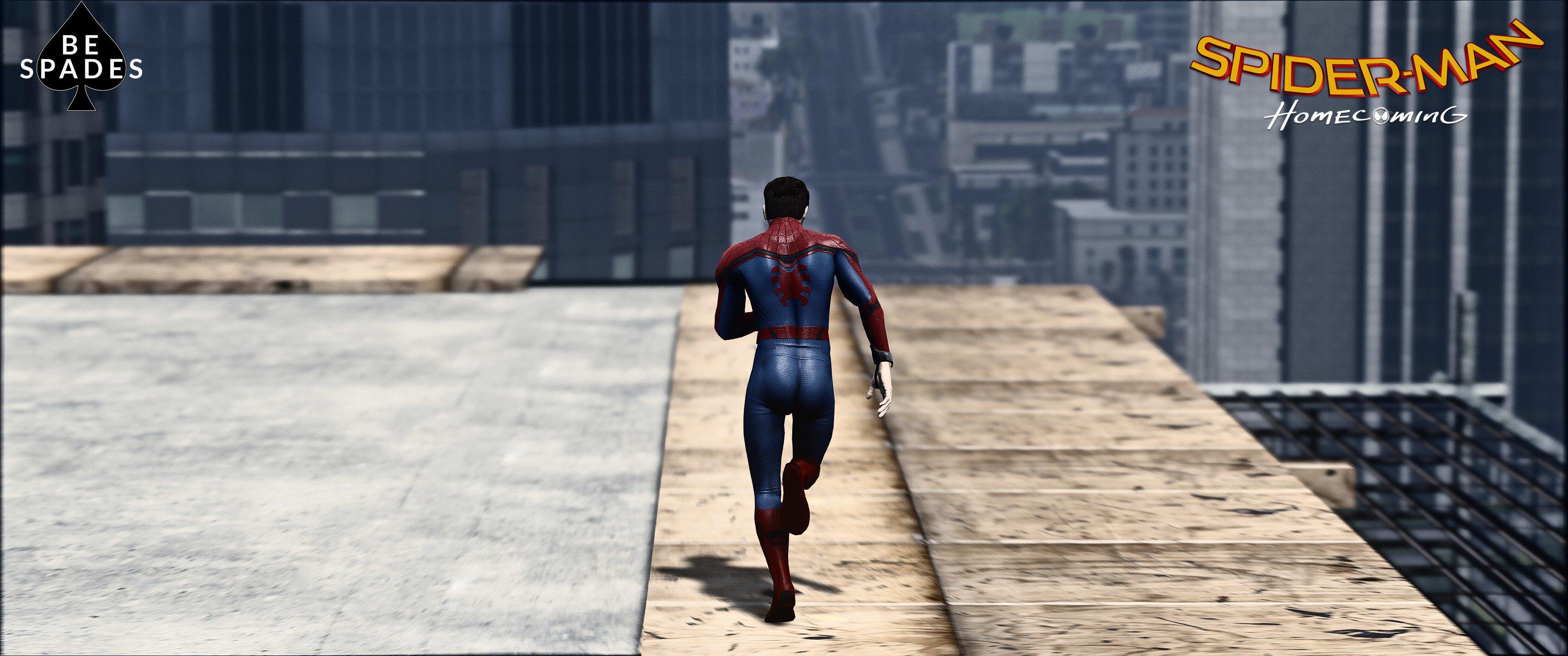 Spider-Man (Civil War/Homecoming) [Add-On] - GTA5-Mods com