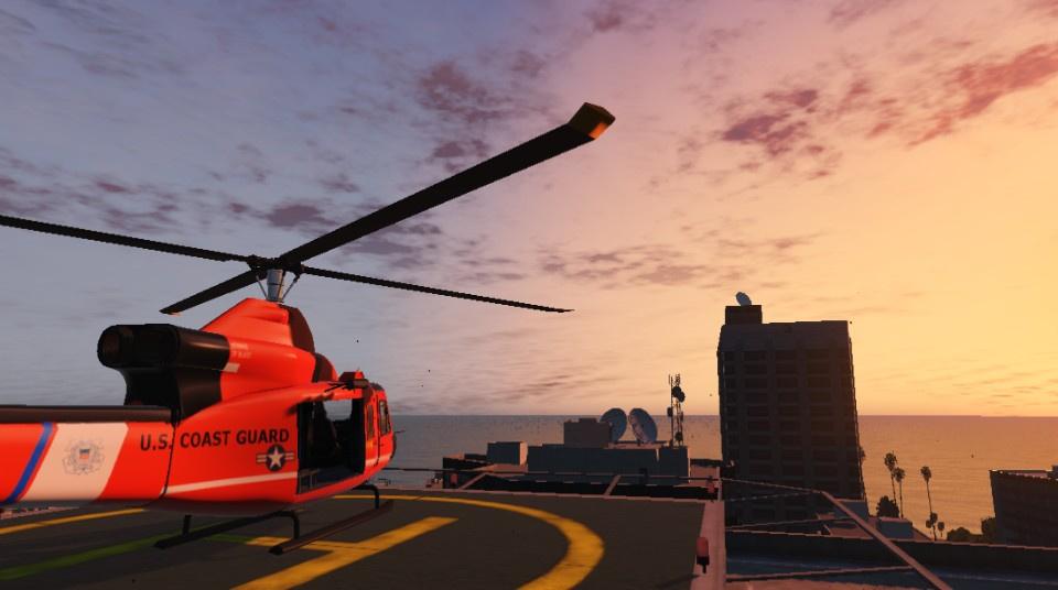 US Coast Guard Los Santos Base Valkyrie - GTA5-Mods com