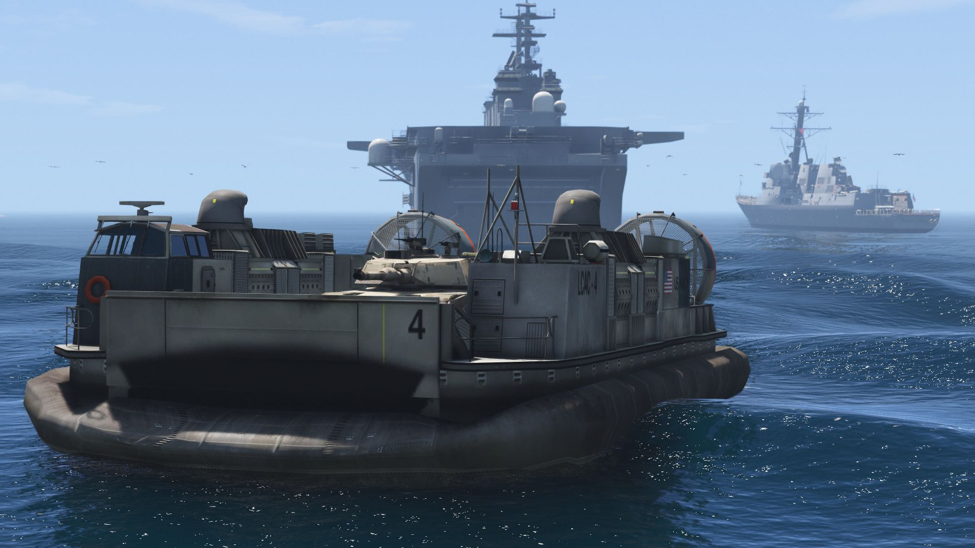 US Navy LCAC Hovercraft - GTA5-Mods com