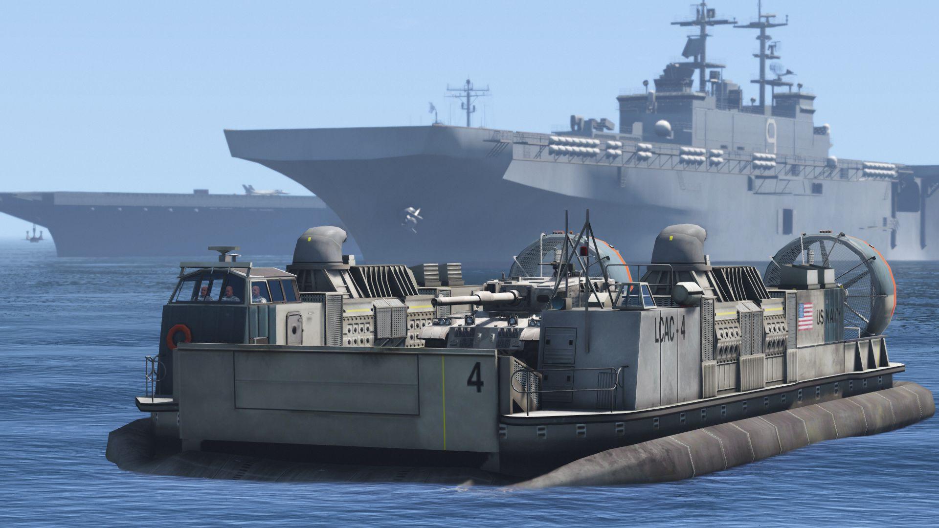 US Navy LCAC Hovercraft - GTA5-Mods com