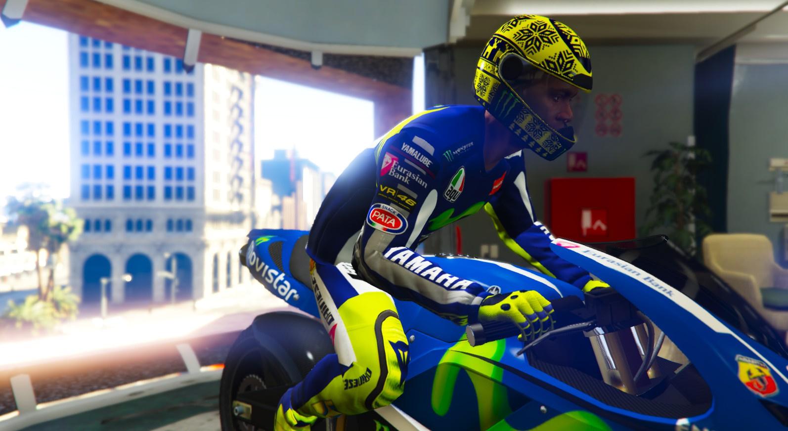 Valentino Rossi M1 Outfit - GTA5-Mods.com