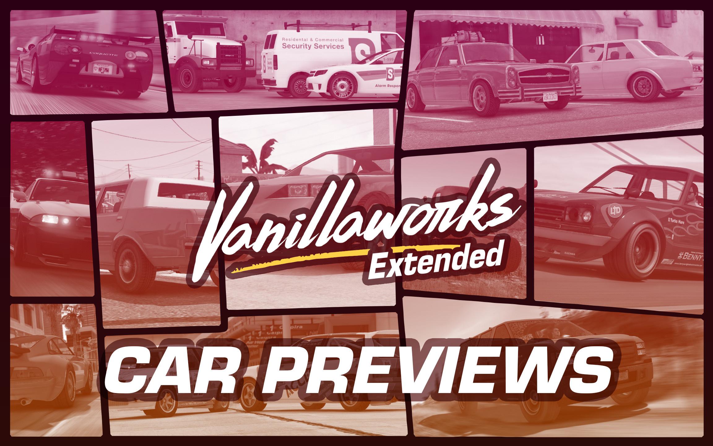 Lore-Friendly Car Pack Previews - GTA5-Mods com