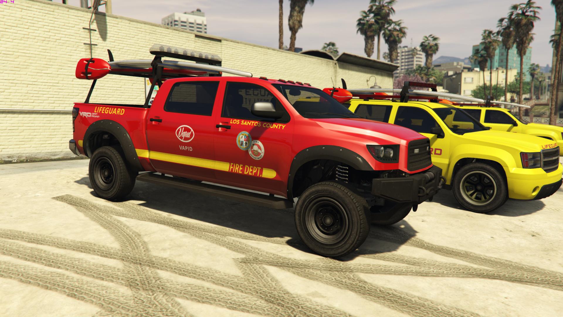 Vapid Contender Lifeguard Add On Replace Gta5 Mods Com
