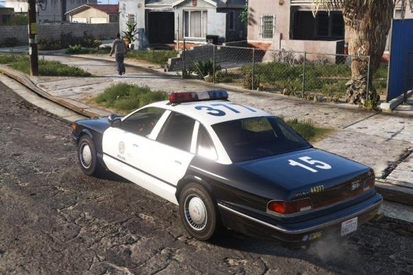 Vapid Police Cruiser [IVPACK REPLACE] - GTA5-Mods com