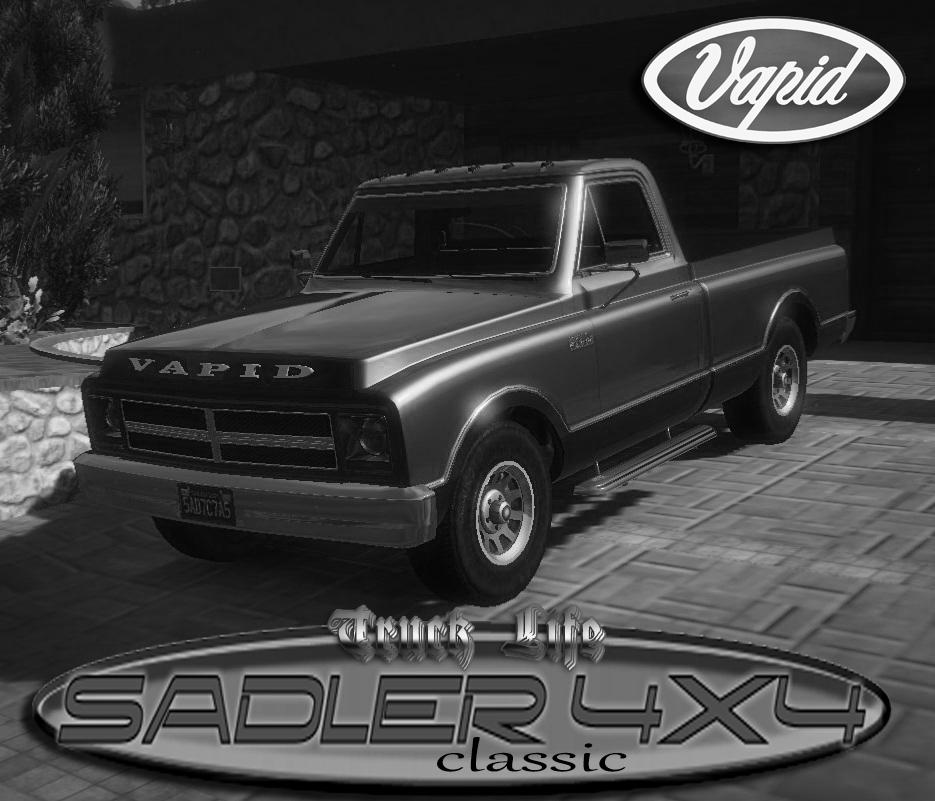 Gta 4 Vehicles Img For Backup Mod: Vapid Sadler 4x4 (Classic) [Addon/Extras]