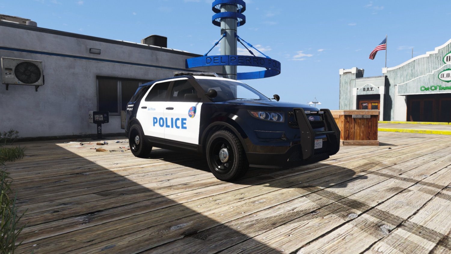 Vapid Scout Police Livery Pack (New Rockford Hills Police ...