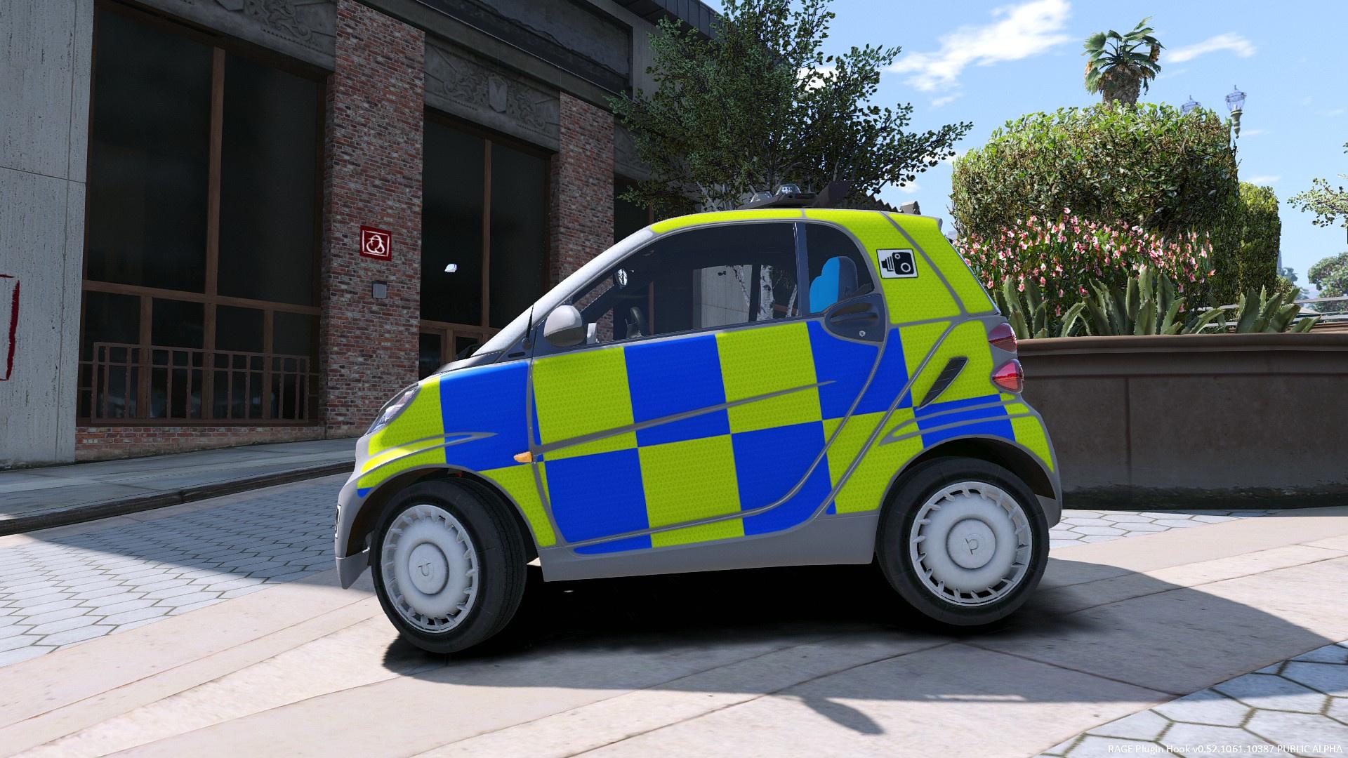 various uk police skins for smart car gta5. Black Bedroom Furniture Sets. Home Design Ideas