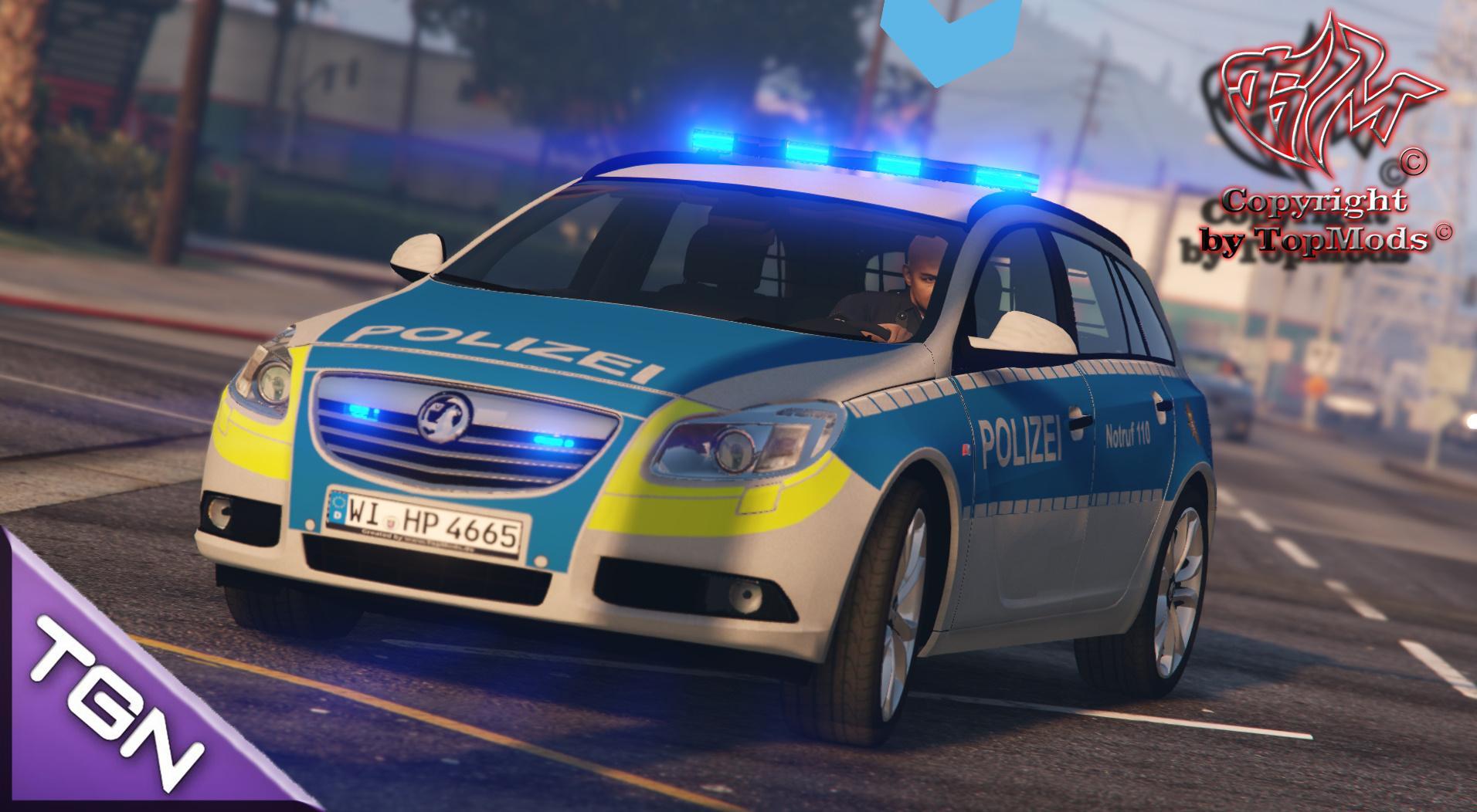 vauxhall insignia polizei hessen - gta5-mods