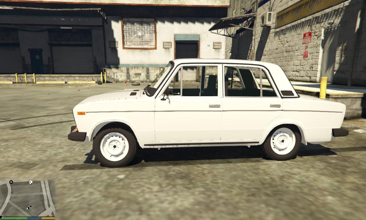 ВАЗ 2106 для GTA V - Скриншот 1