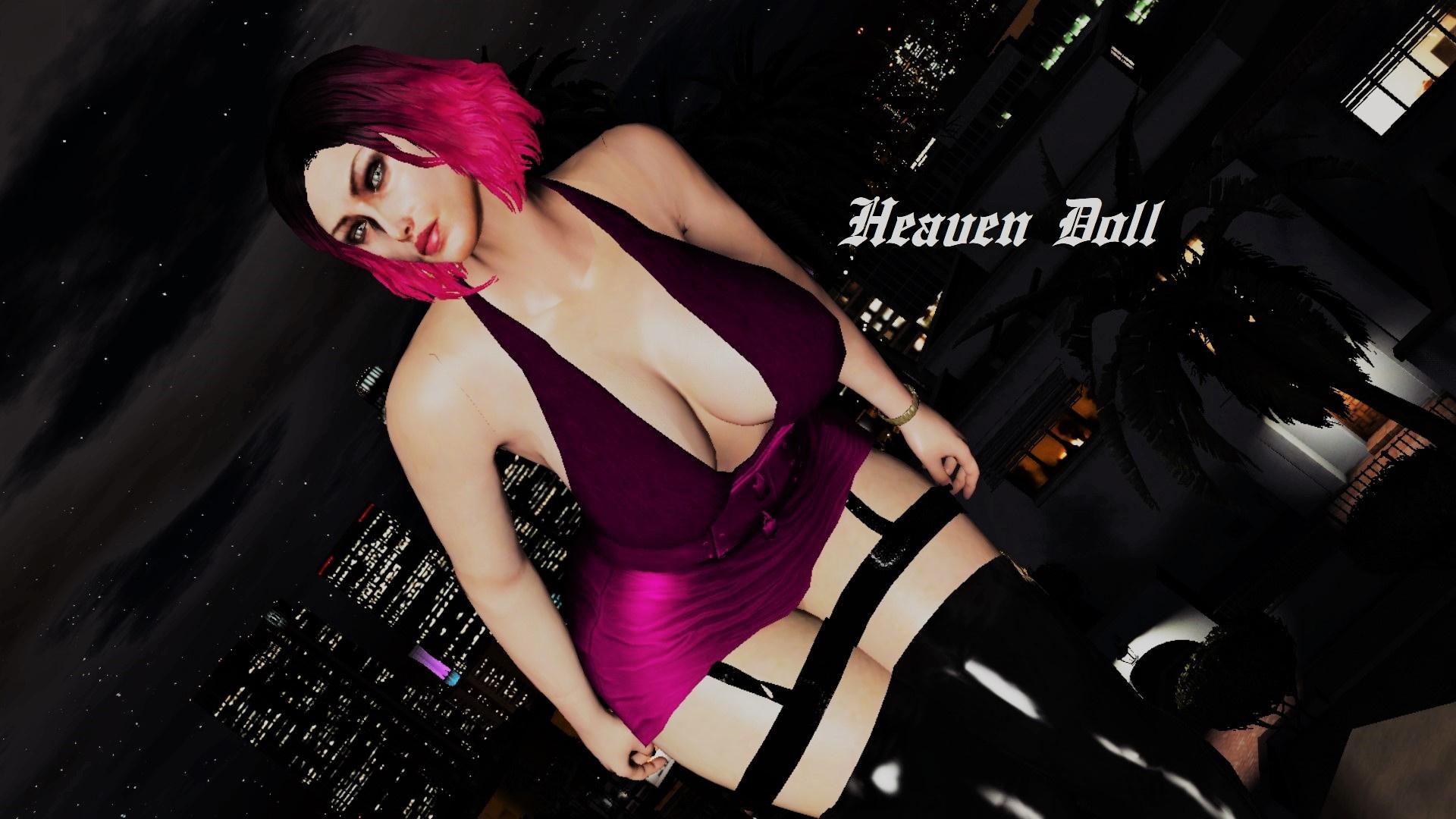 Vees Dress for Nivinhas Super Thicc (MP Female) - GTA5