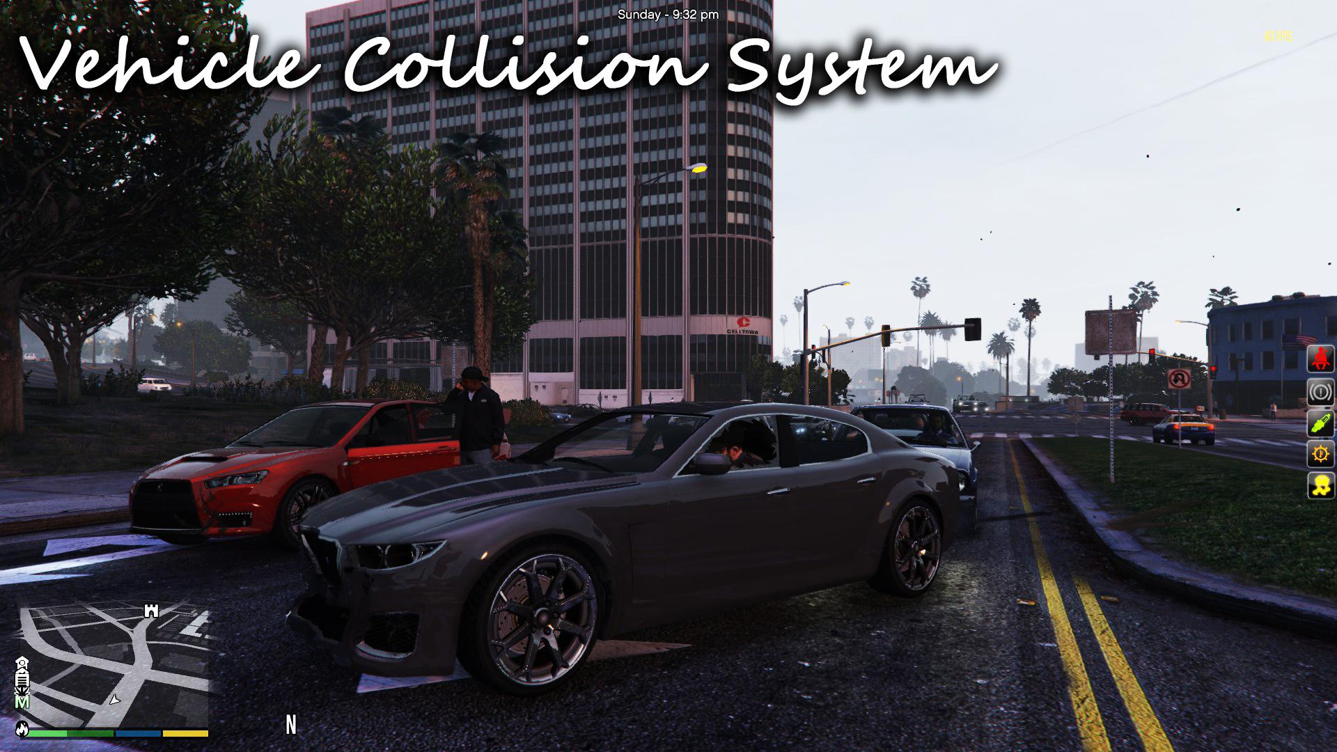 Vehicle Collision System / Repair / Push - GTA5-Mods com