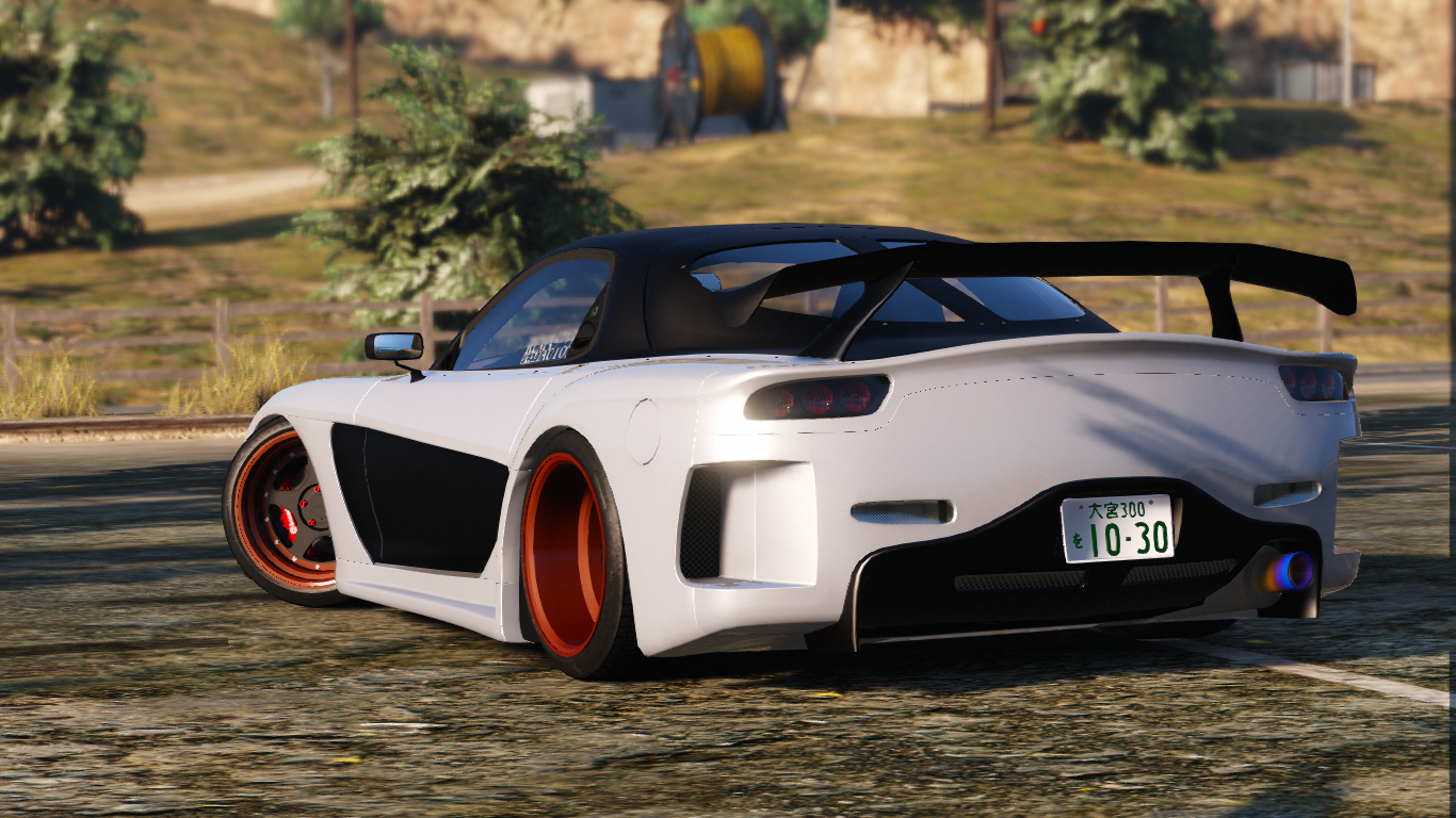 Veilside Mazda RX7 FD3S [Add-On / Rep] - GTA5-Mods.com