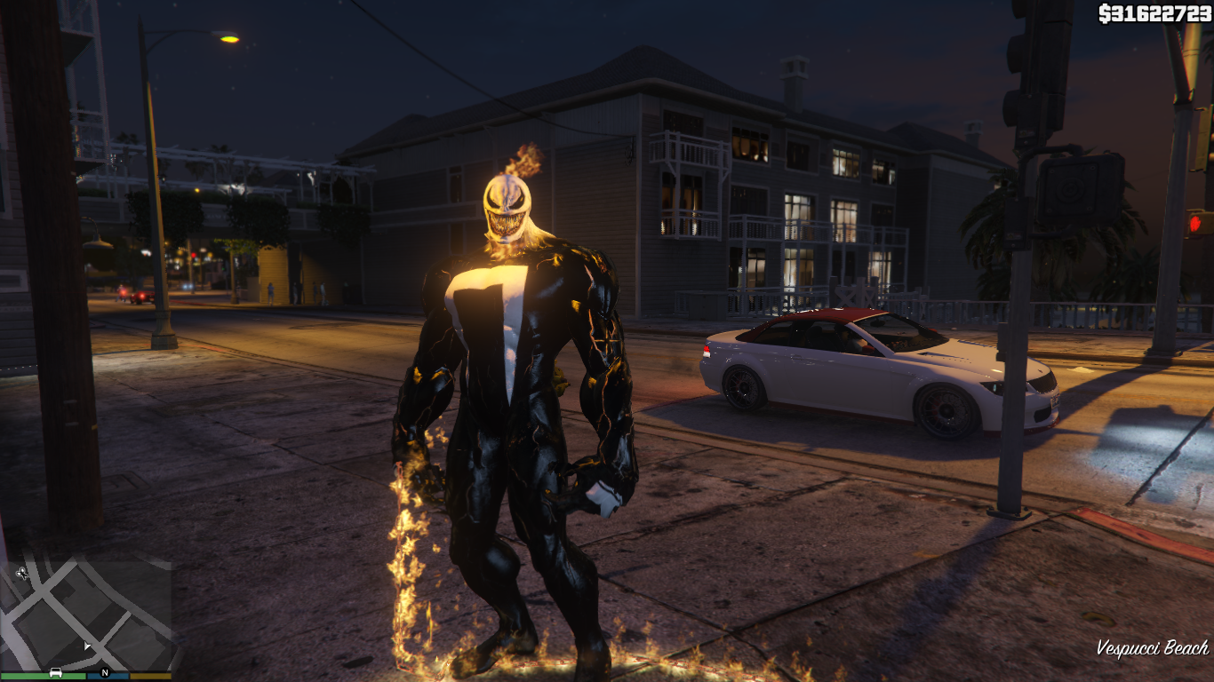 VENOM - GHOST RIDER - GTA5-Mods com