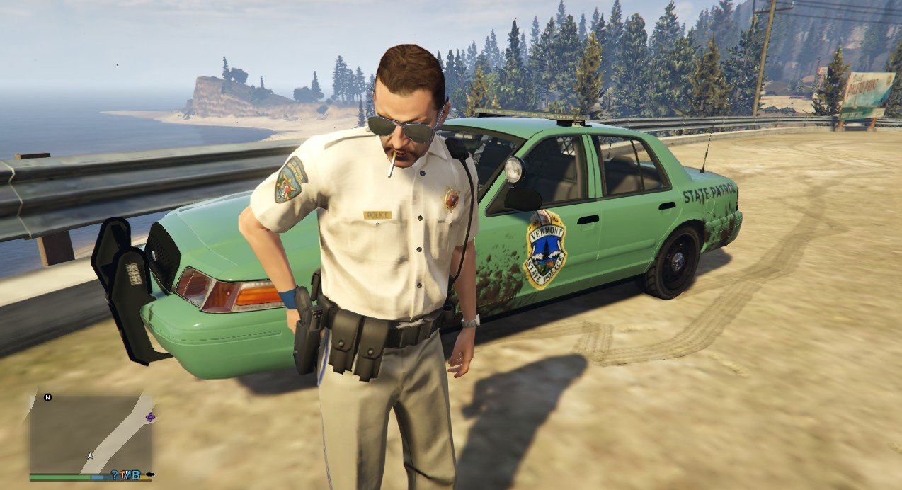 Vermont State Police Cvpi Beta Gta5 Mods Com