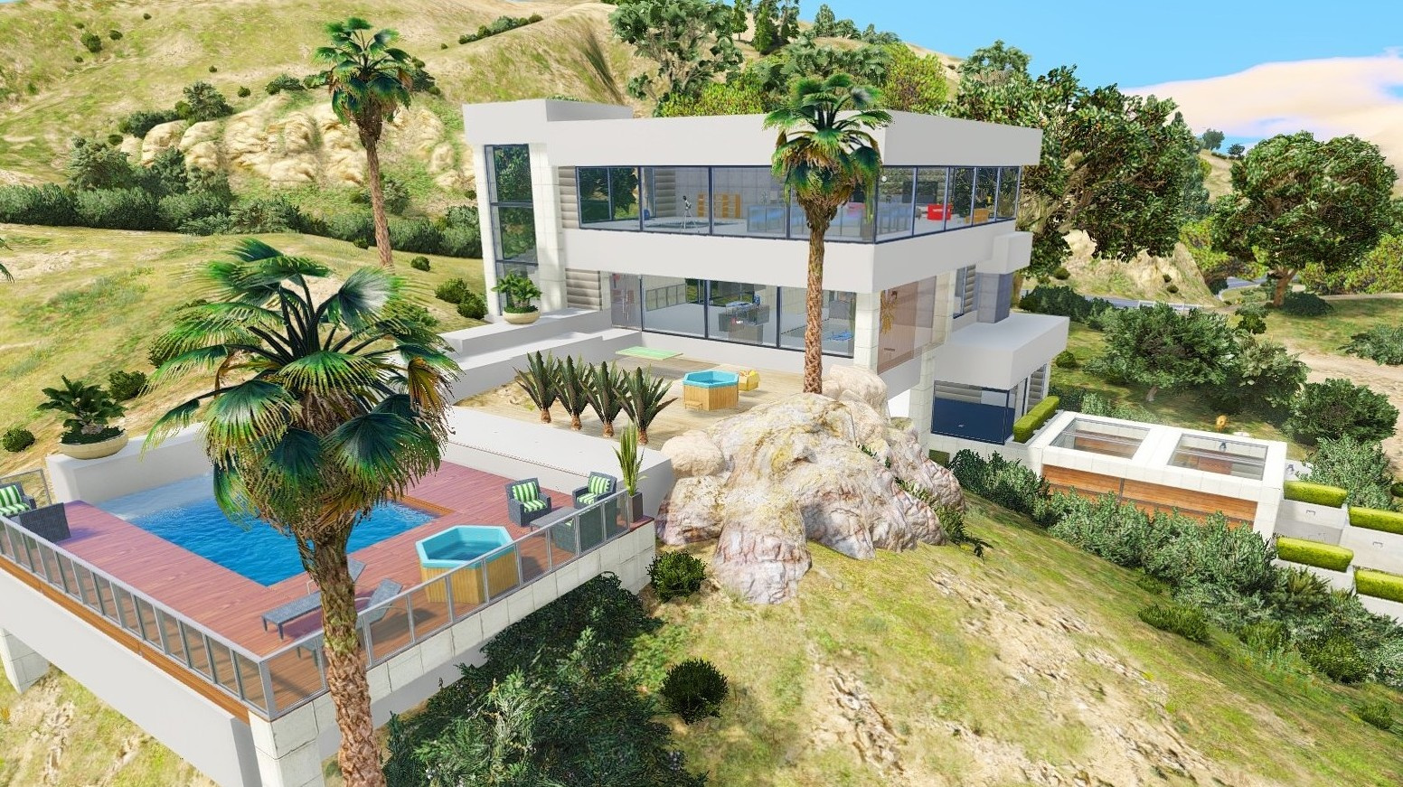 Villa gta5 for Designer apartment gta 5