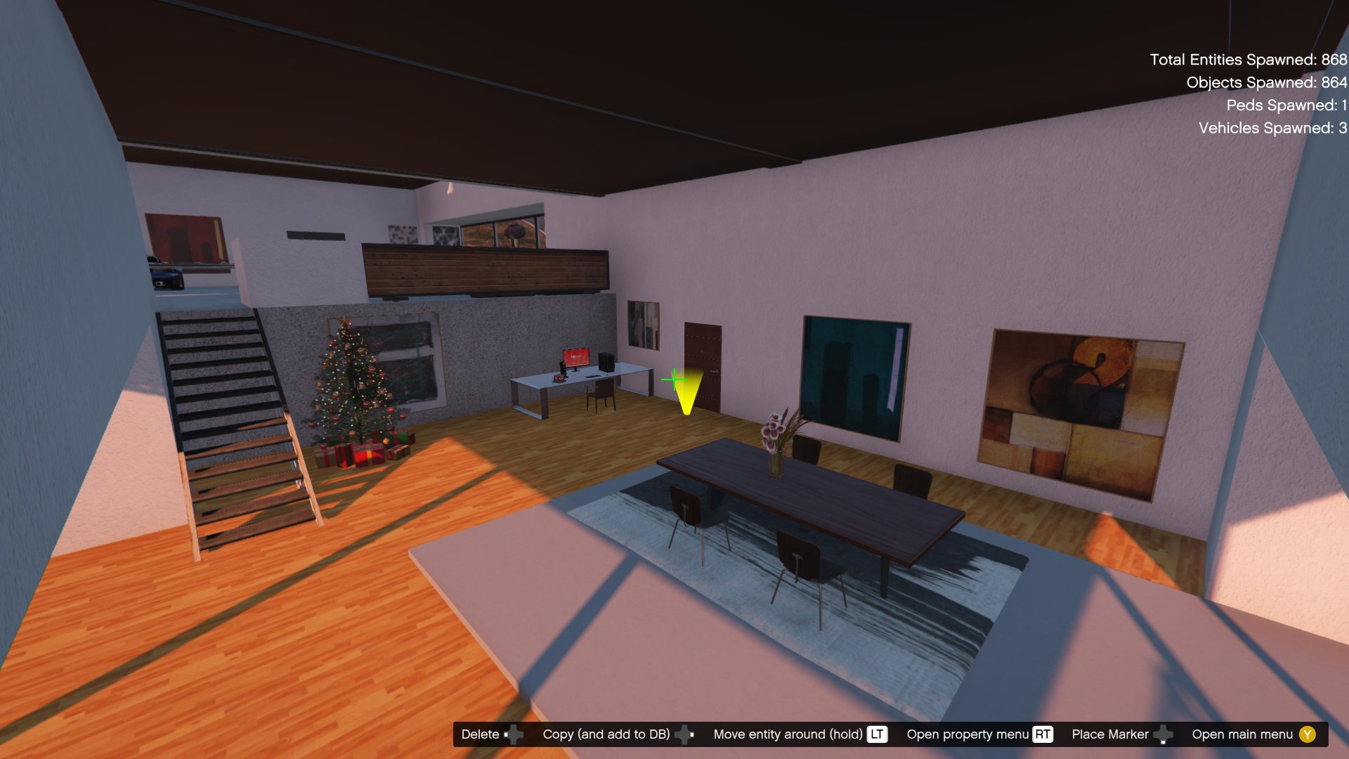 Vinewood Hills Villa Menyoo Map Builder