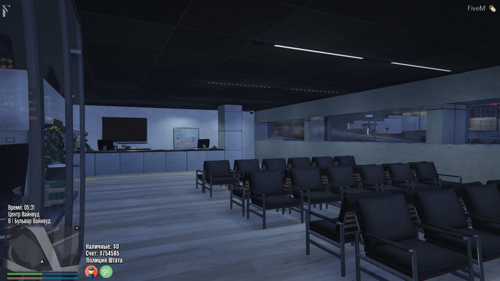 Vinewood Police Station Interior [YMAP/Map Builder] - GTA5-Mods com