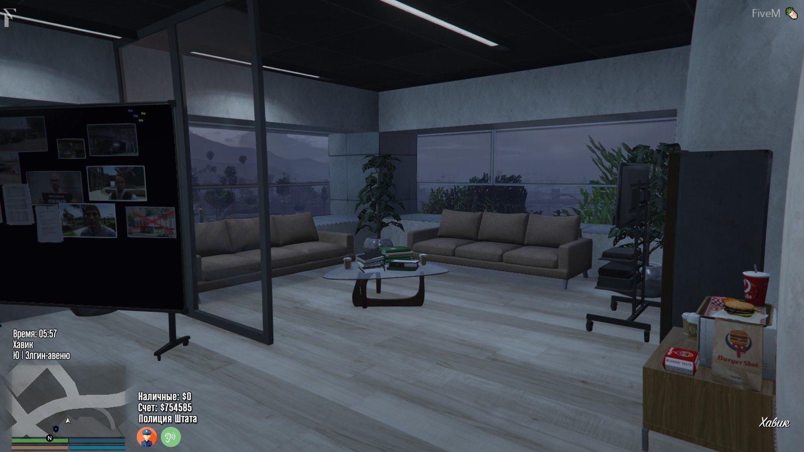 Vinewood Police Station Interior [YMAP/Map Builder] - GTA5