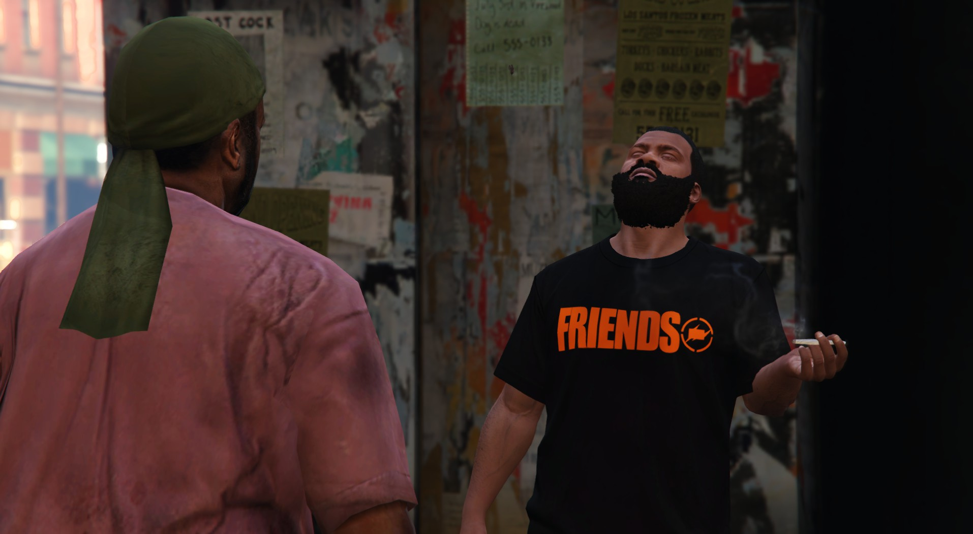 b28d9676f VLONE x Fragment Friends T-Shirt - GTA5-Mods.com