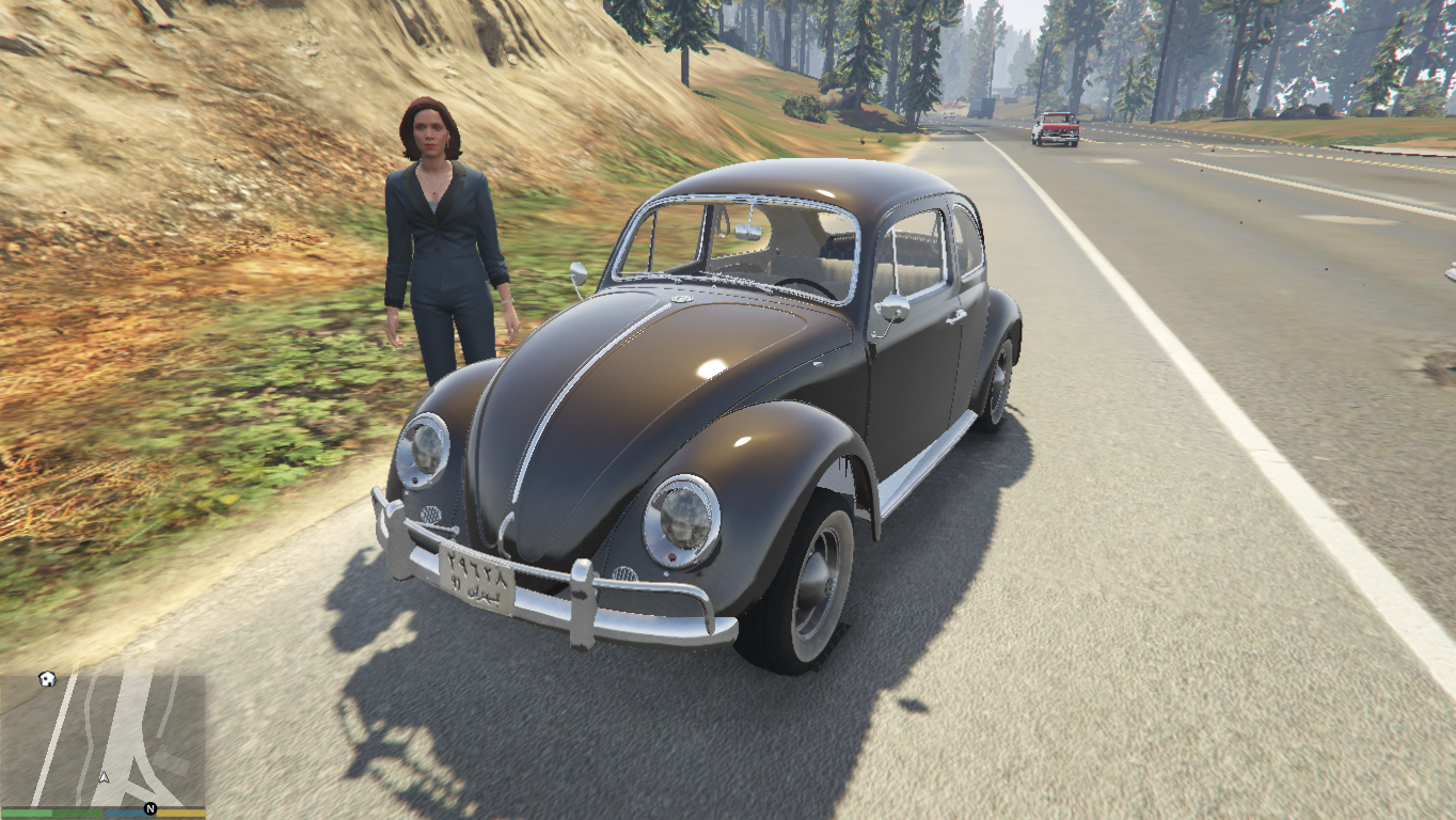 volkswagen beetle add  replace gta modscom