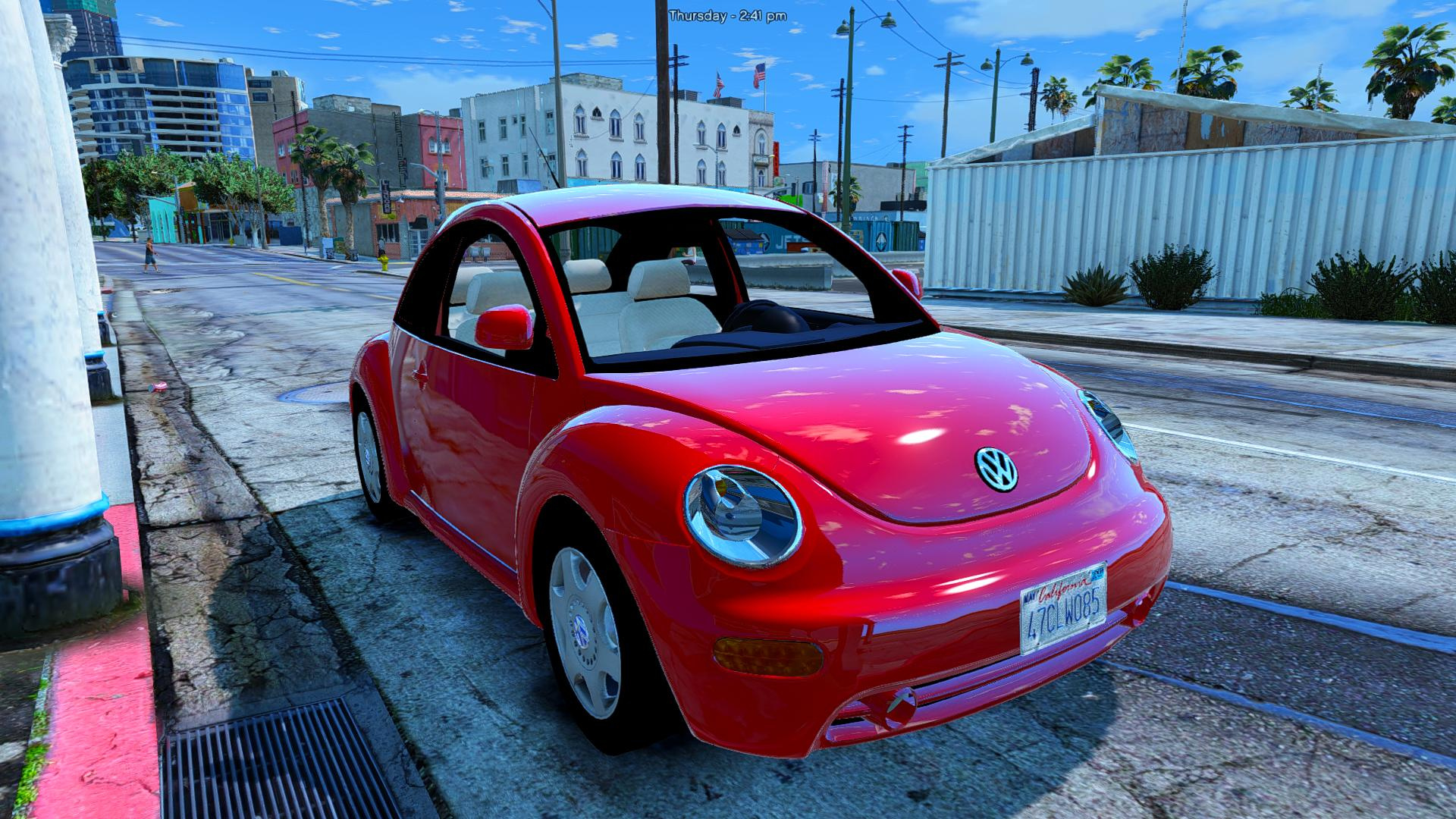 volkswagen beetle 2003 add on replace gta5. Black Bedroom Furniture Sets. Home Design Ideas