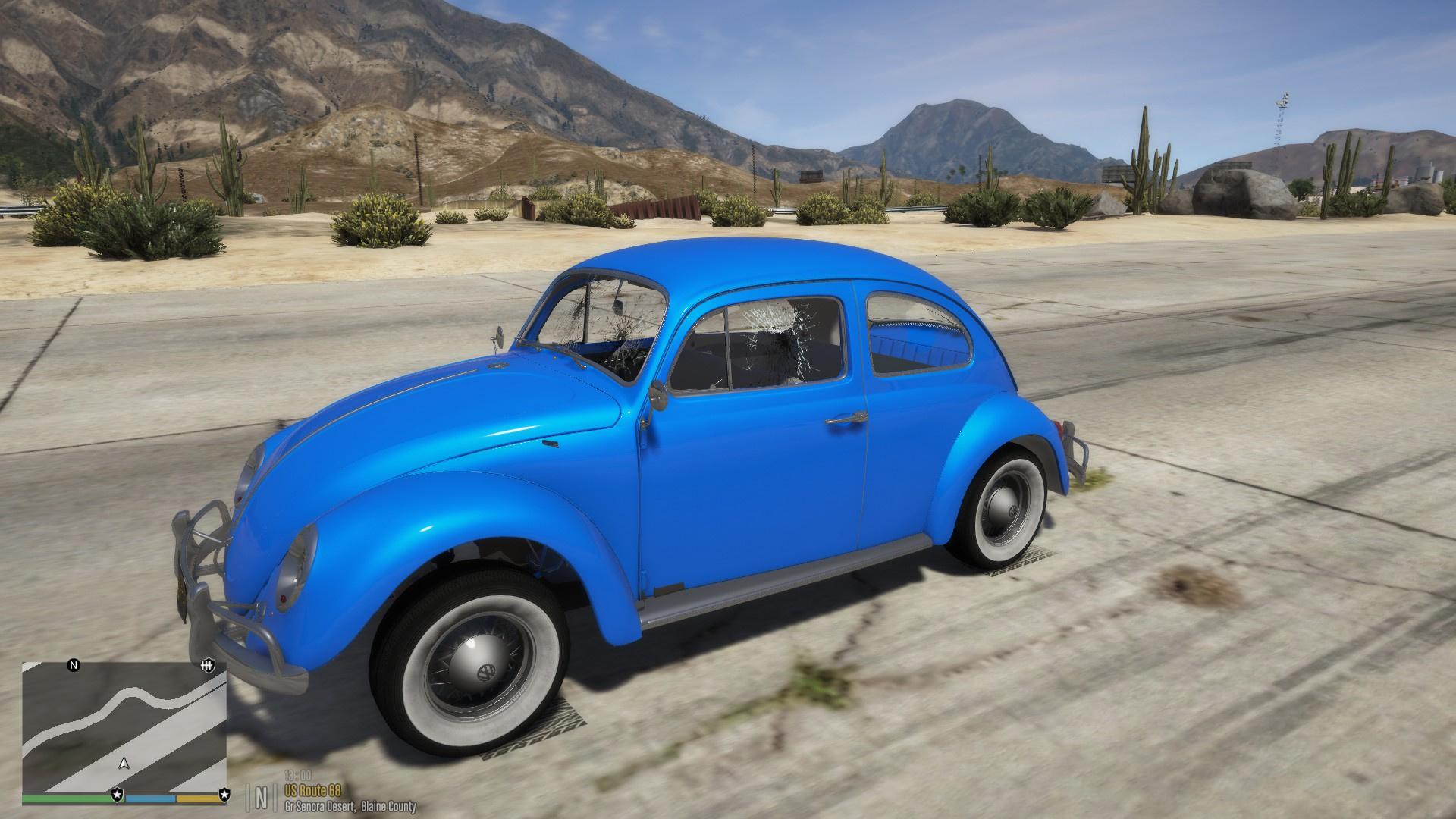 Volkswagen Beetle/Fusca [Wipers | Template] - GTA5-Mods.com