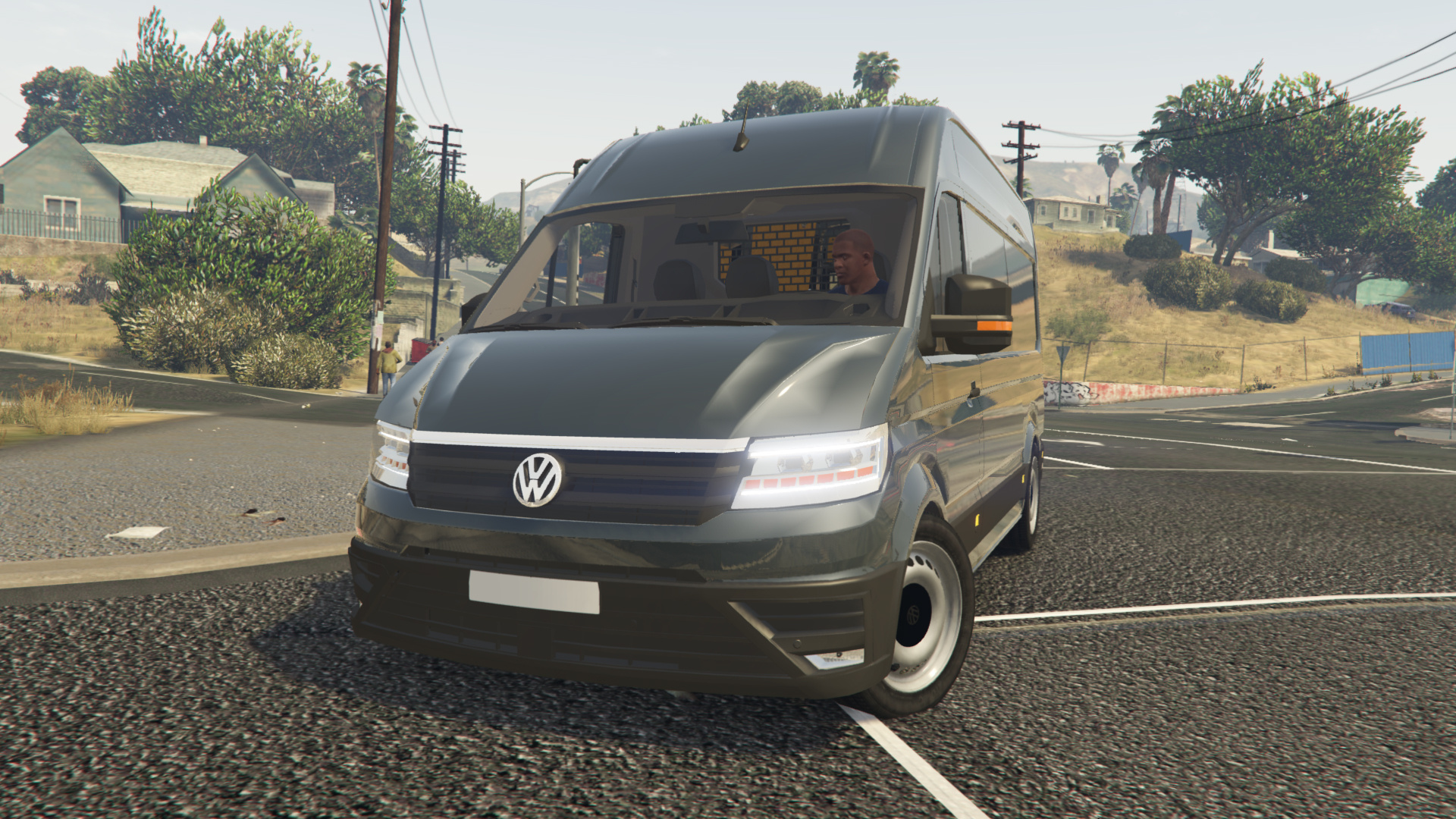 volkswagen crafter 2017 l1h2 replace gta5. Black Bedroom Furniture Sets. Home Design Ideas