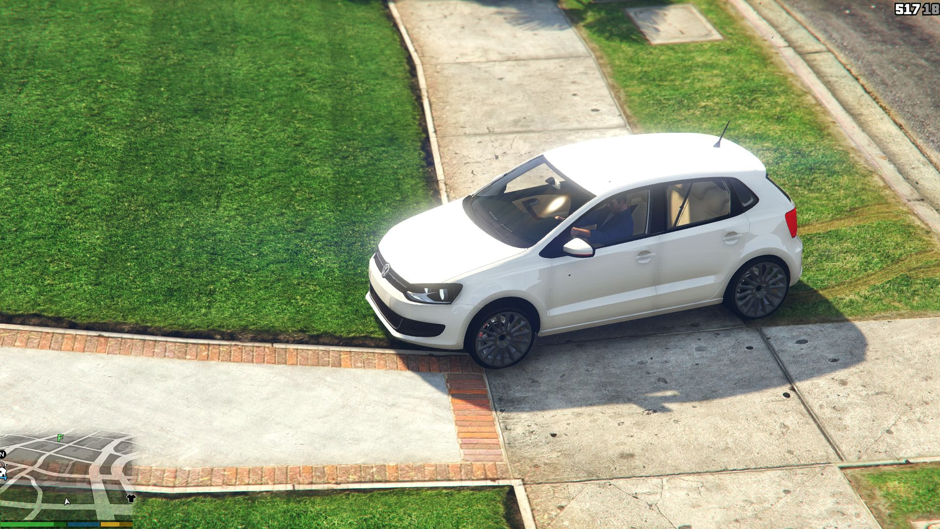edi o volkswagen polo g6 2014 gta5. Black Bedroom Furniture Sets. Home Design Ideas