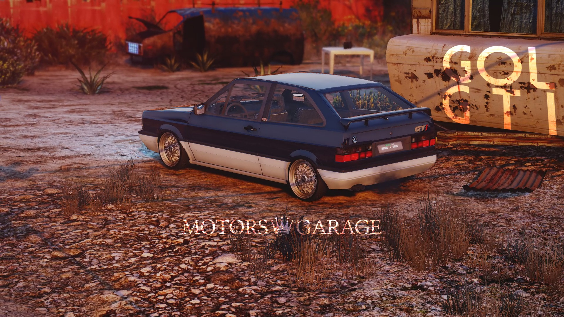 Volkswagen gol gti 89 add on gta5 for Garage mitsubishi 95