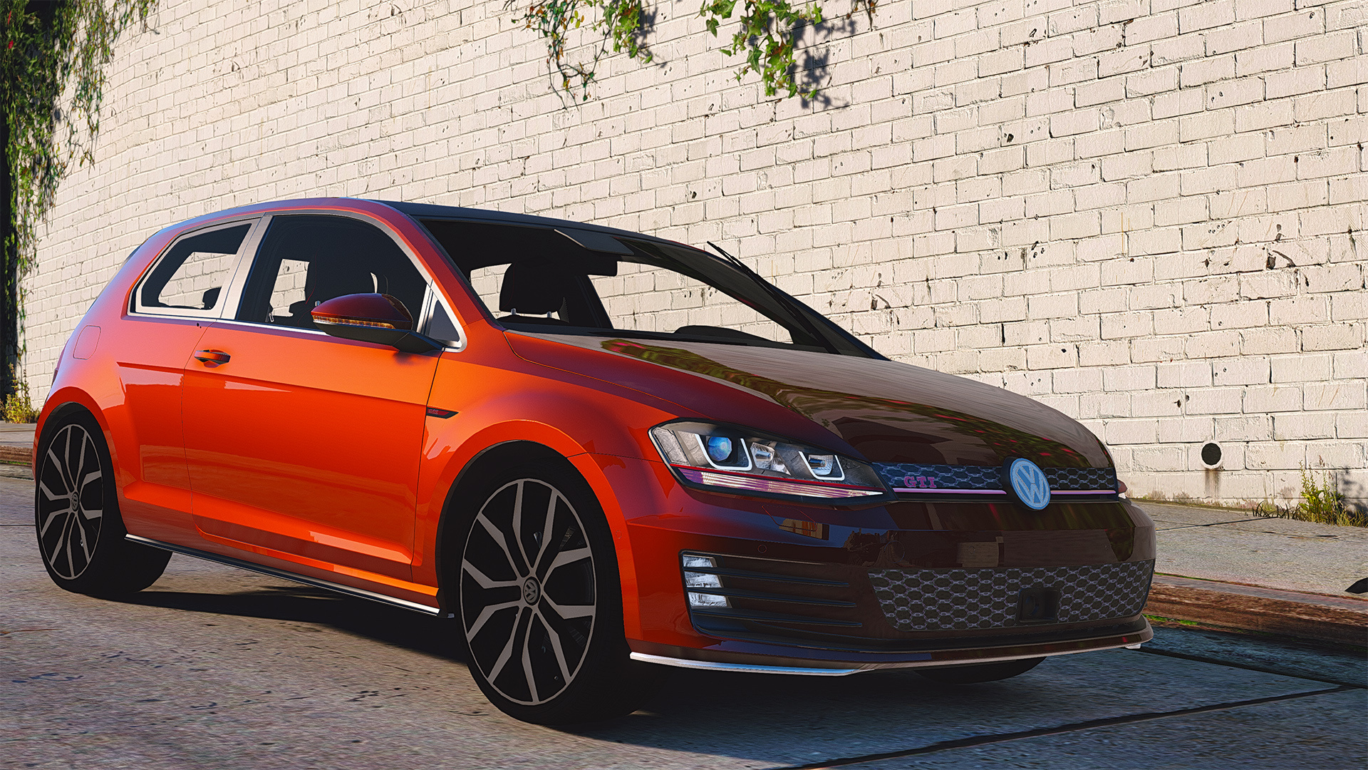volkswagen golf gti mk7 stock add on replace tuning. Black Bedroom Furniture Sets. Home Design Ideas