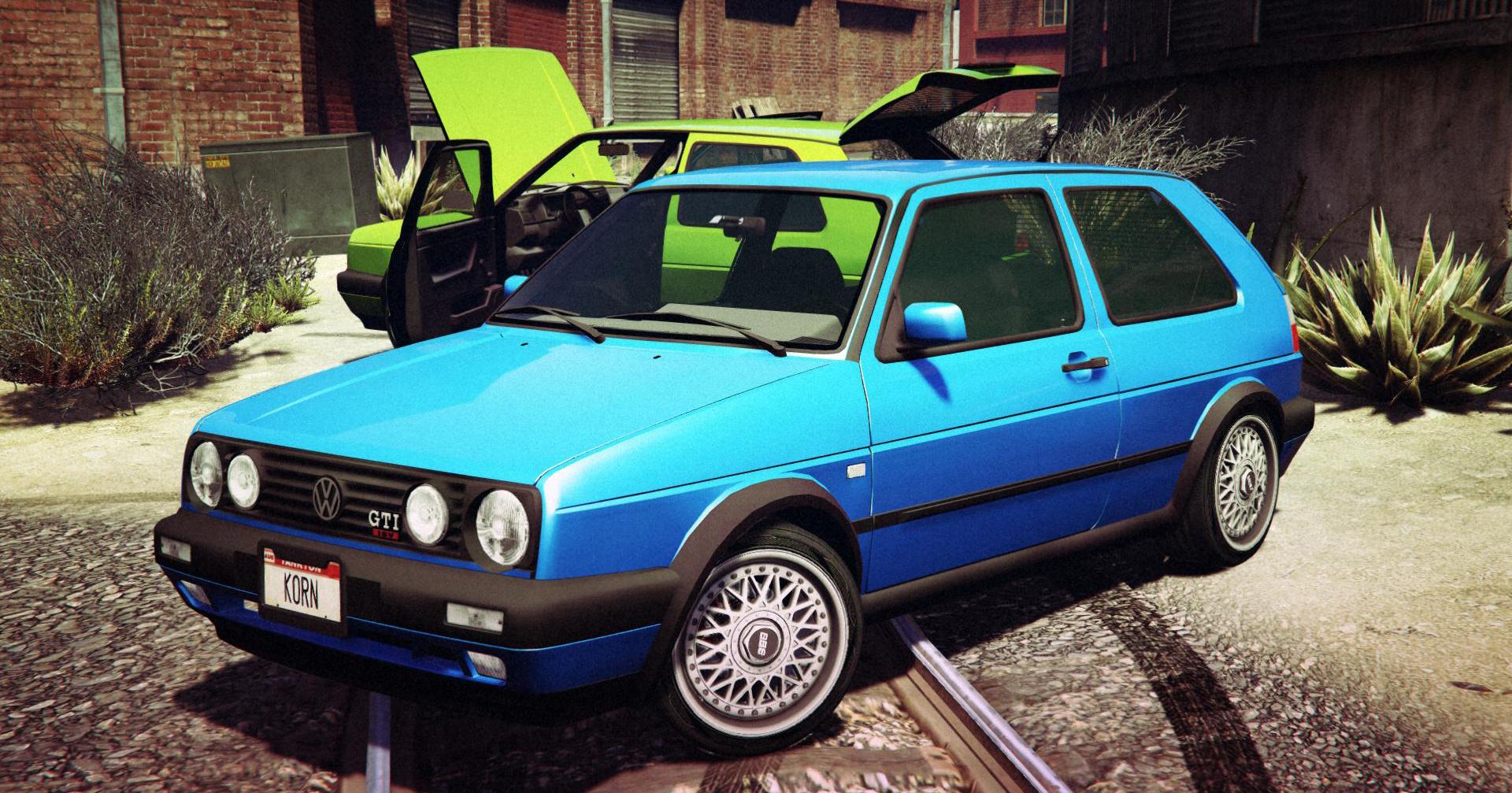 Volkswagen Golf Mk2 GTA5 Mods