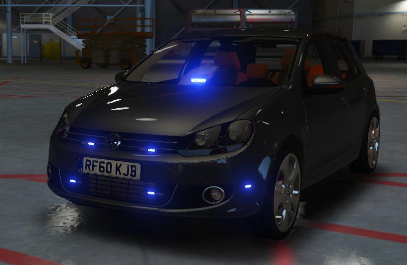 Volkswagen Golf Unmarked Greater Manchester Police