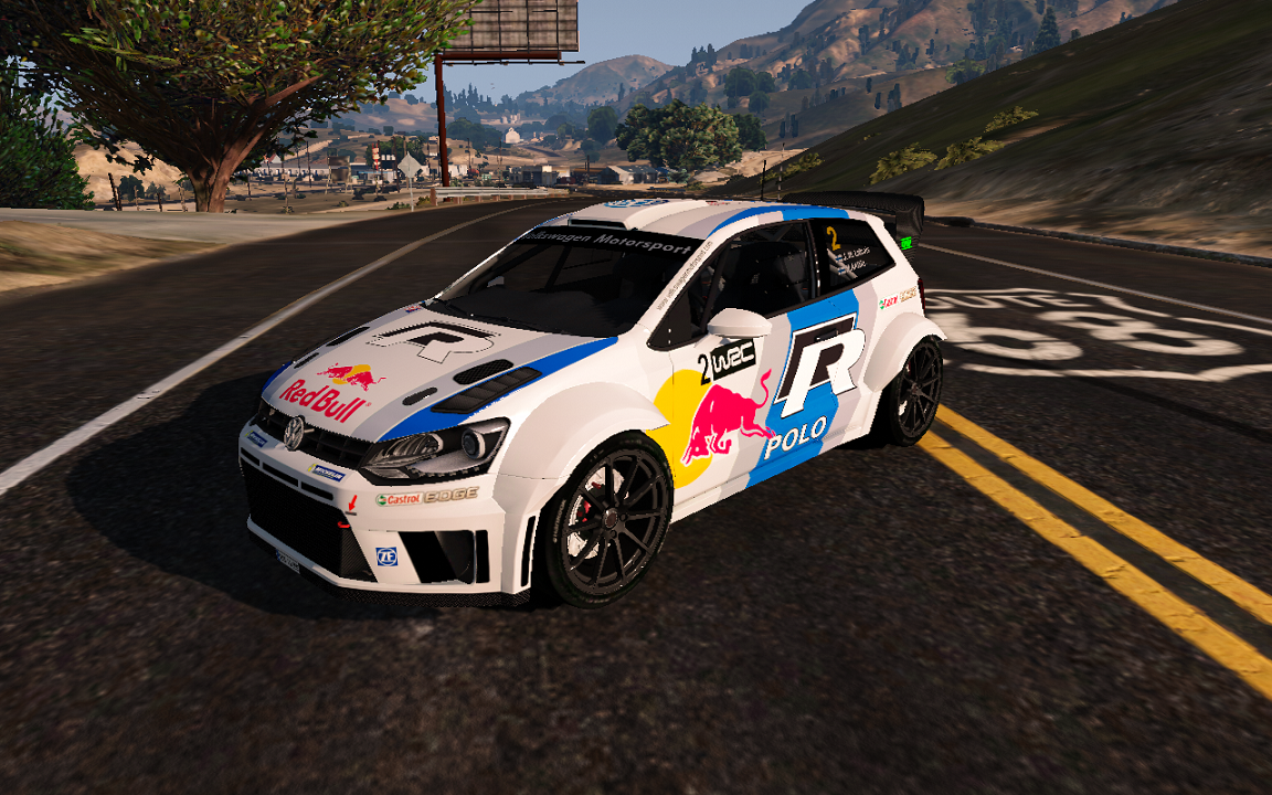 volkswagen polo r wrc livery gta5. Black Bedroom Furniture Sets. Home Design Ideas