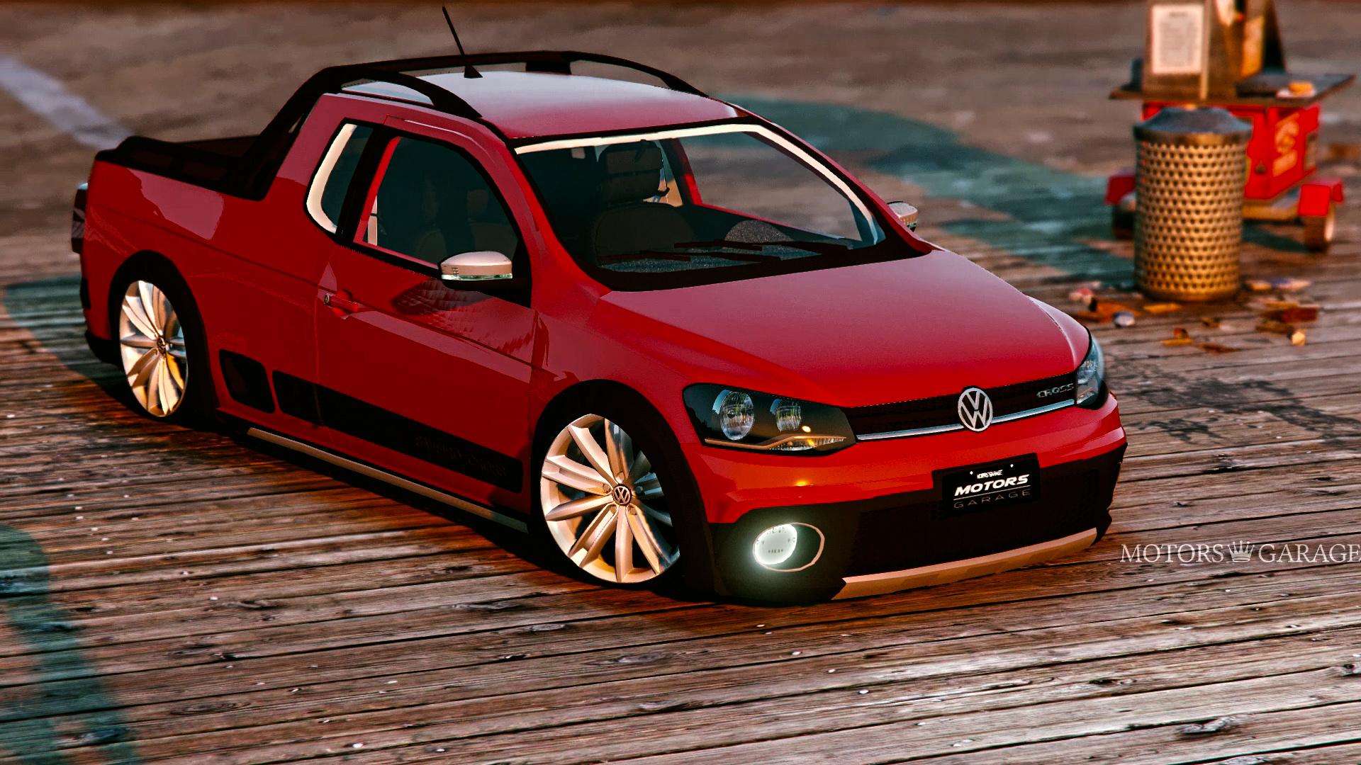 Volkswagen saveiro g6 cross gta5 for Garage volkswagen 95