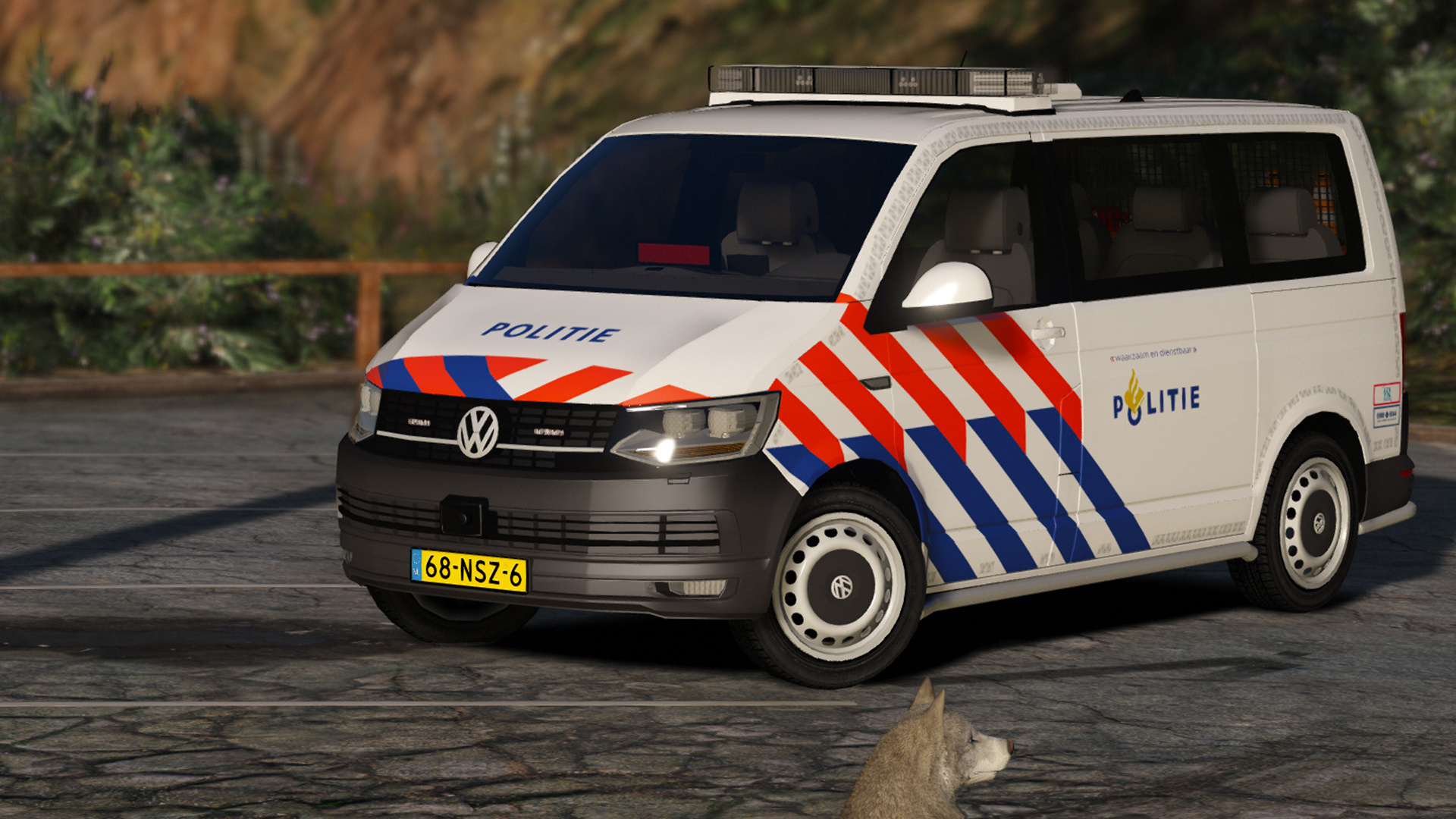 volkswagen t6 dutch police teammoh els gta5. Black Bedroom Furniture Sets. Home Design Ideas