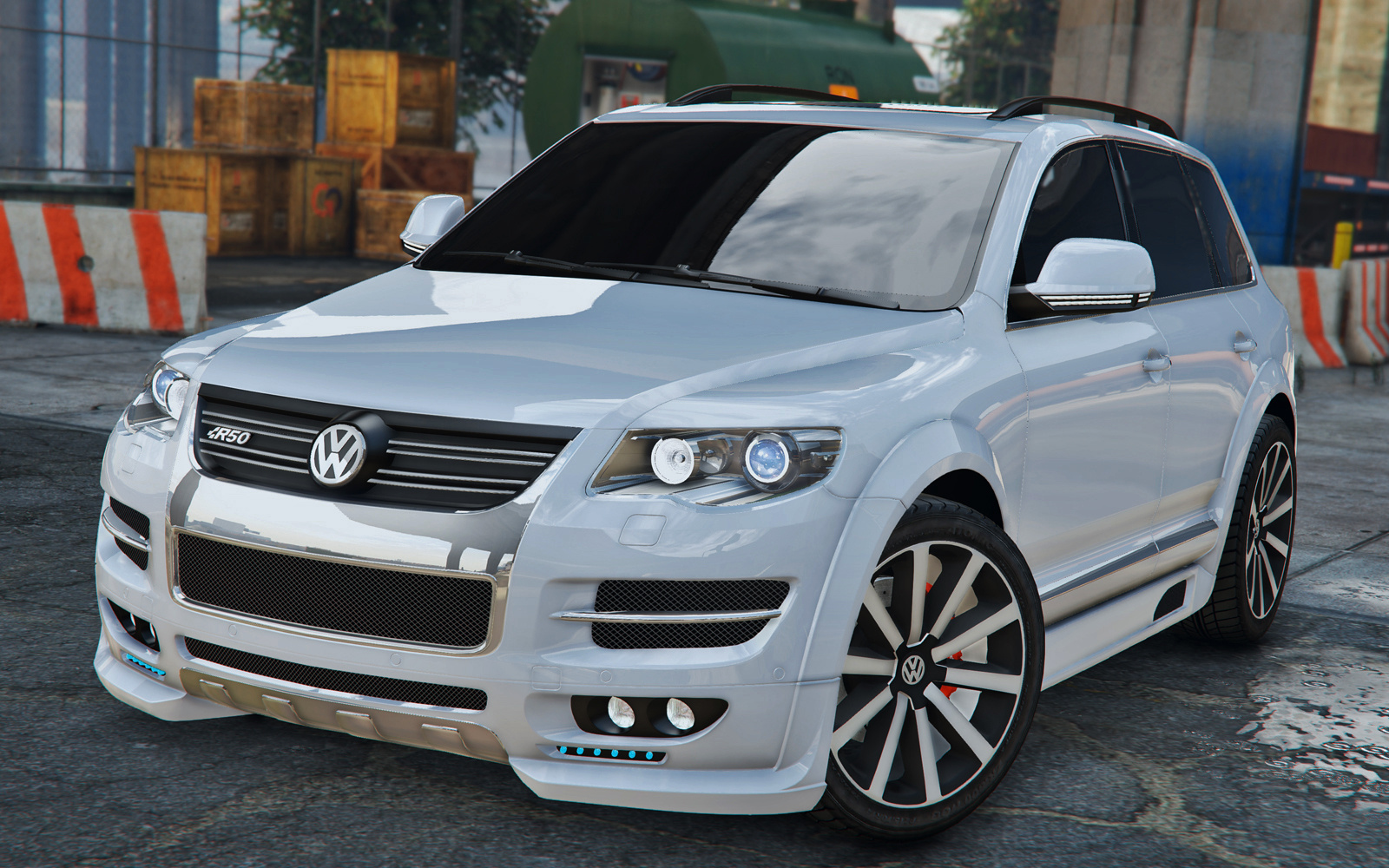 volkswagen touareg 2008 r50 add on replace tuning. Black Bedroom Furniture Sets. Home Design Ideas