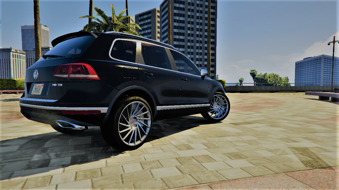 volkswagen touareg v10 tdi realistic handling gta5. Black Bedroom Furniture Sets. Home Design Ideas