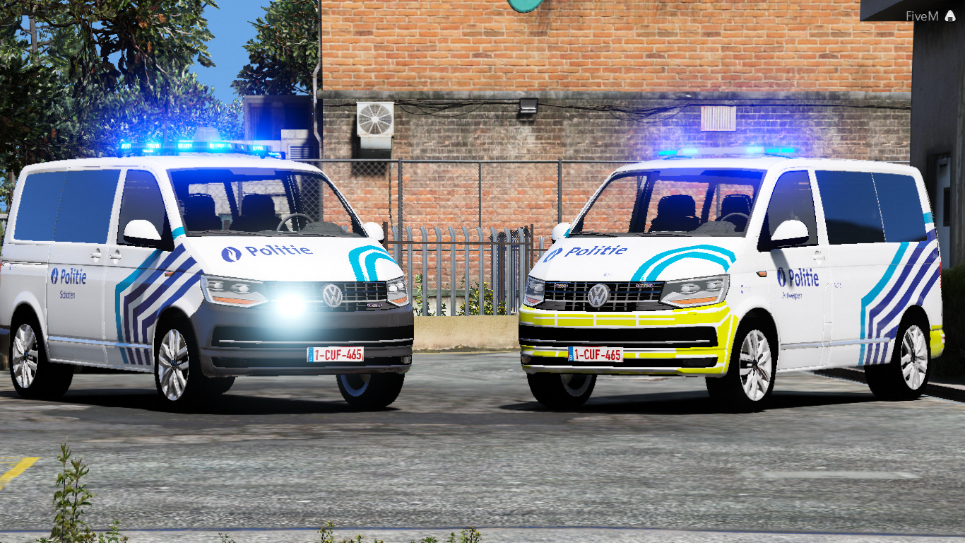 volkswagen transporter t6 belgi lokale politie schoten. Black Bedroom Furniture Sets. Home Design Ideas