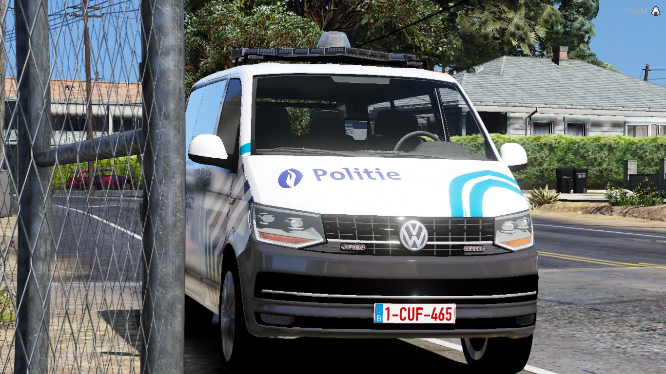 volkswagen transporter t6 belgi lokale politie schoten. Black Bedroom Furniture Sets. Home Design Ideas