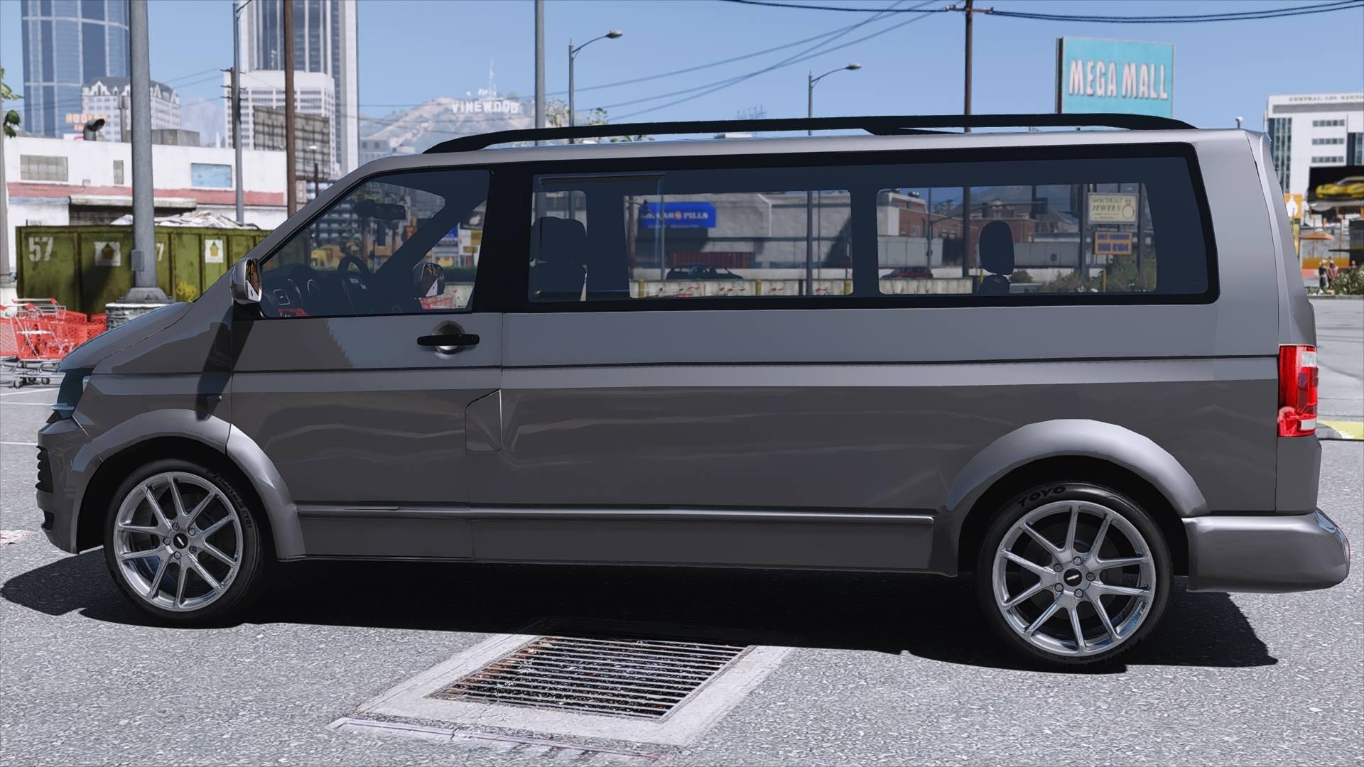 volkswagen transporter gta5. Black Bedroom Furniture Sets. Home Design Ideas