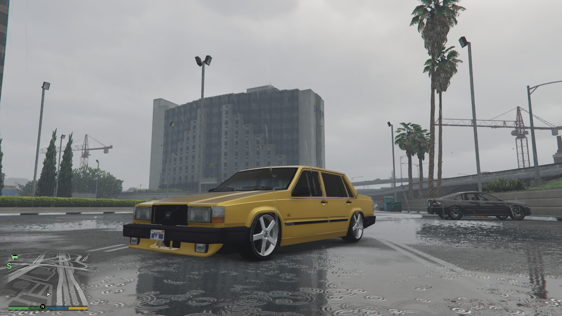 Volvo 740 Replace Gta5 Mods Com