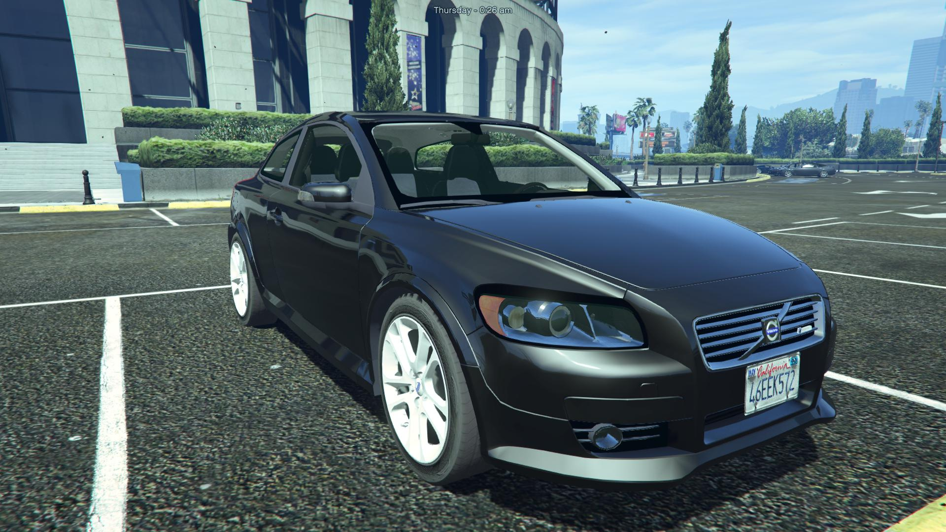 volvo c30 r design add on replace gta5. Black Bedroom Furniture Sets. Home Design Ideas