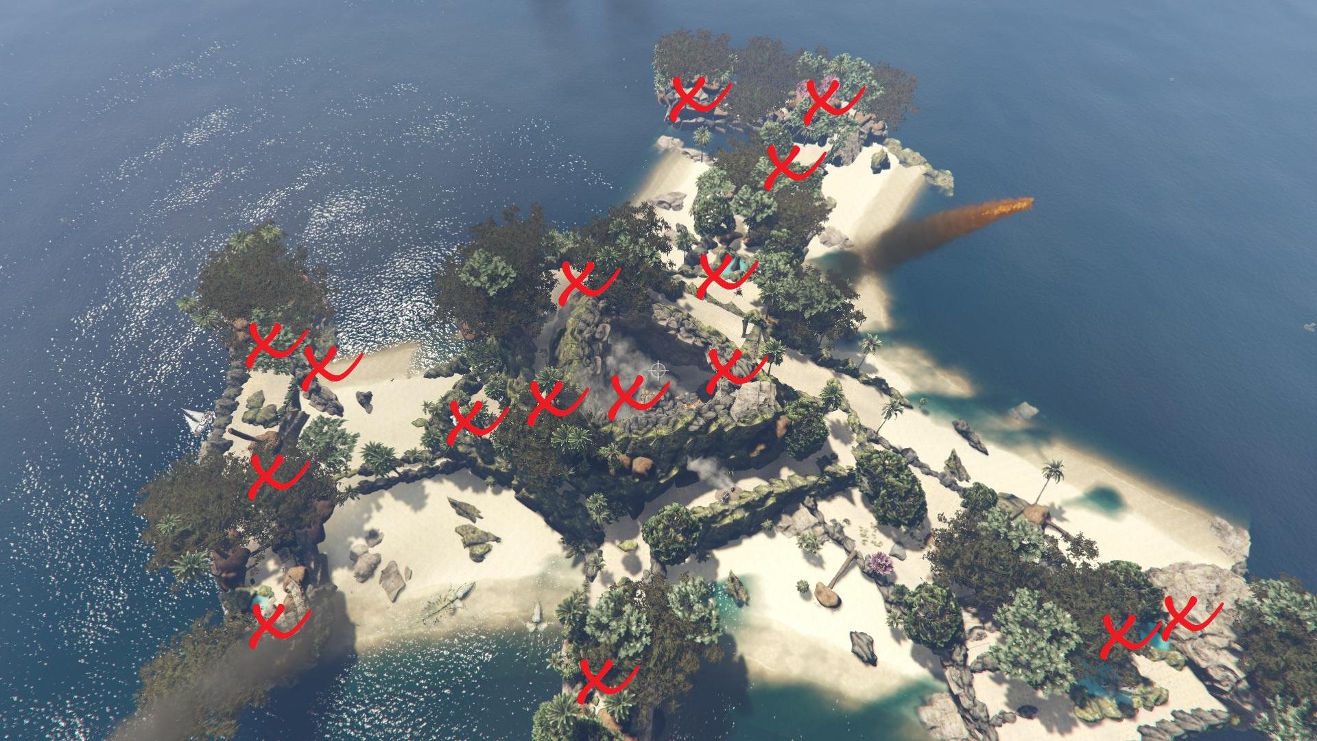 island quest volcano mods gta5 treasure treasur maps expand vulcano