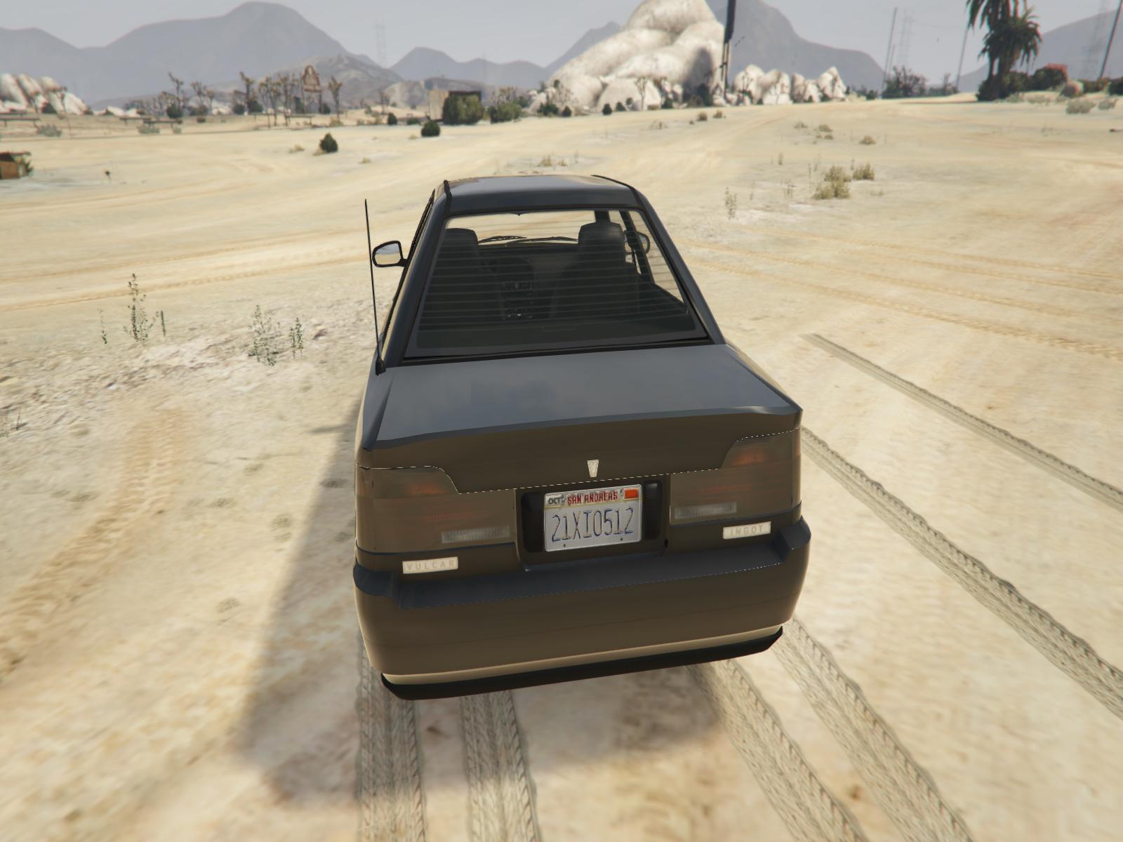 Vulcar Ingot Sedan Mods Com