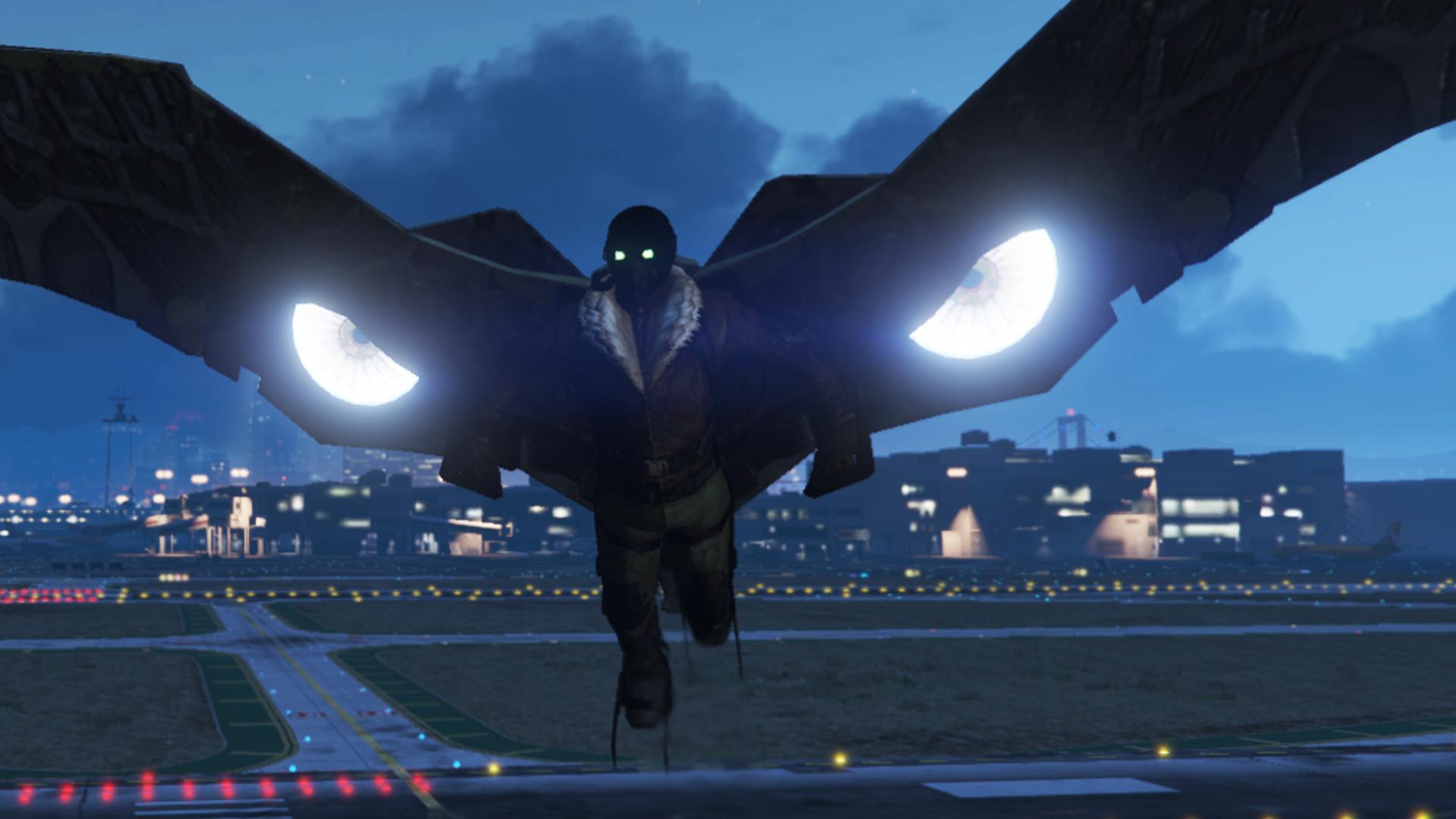 Vulture Spider Man Home Coming Emissive Gta5 Mods Com