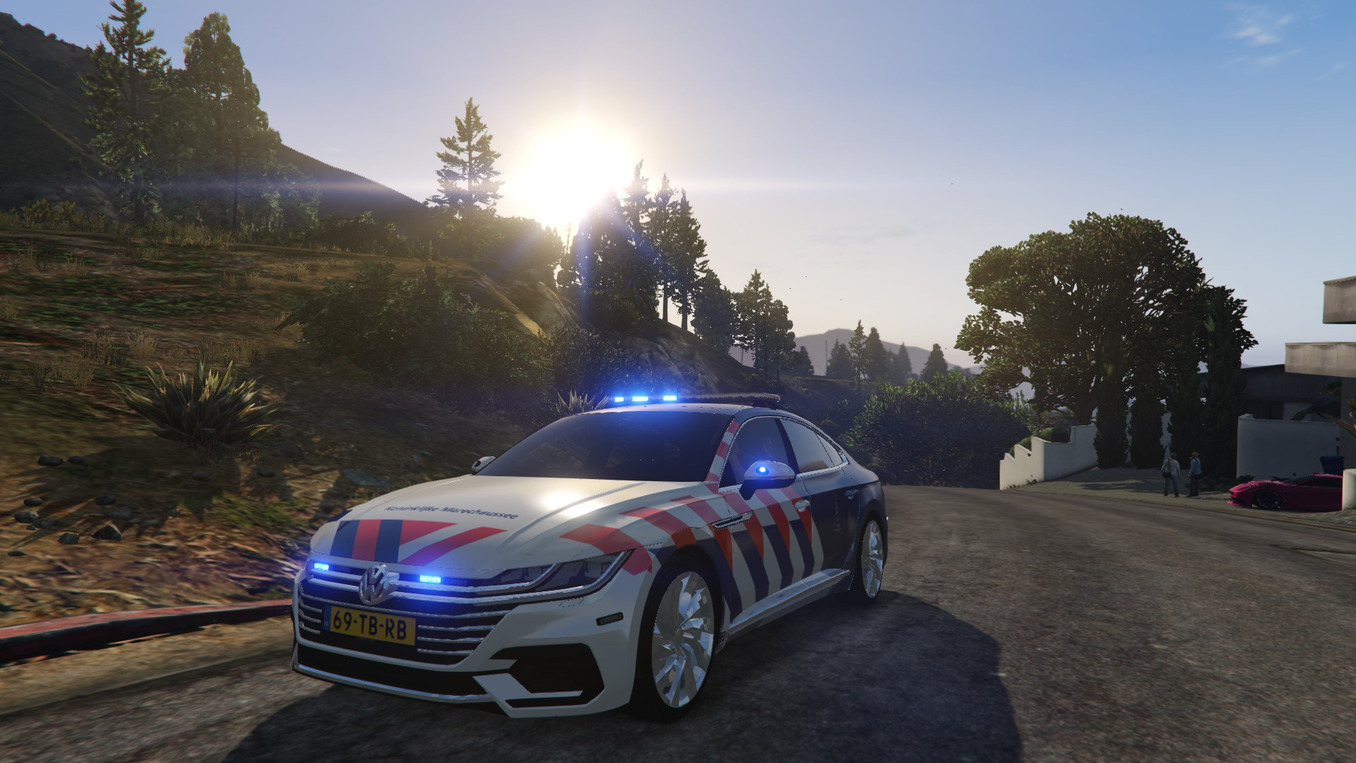 vw arteon kmar dutch police nederlandse politie gta5. Black Bedroom Furniture Sets. Home Design Ideas